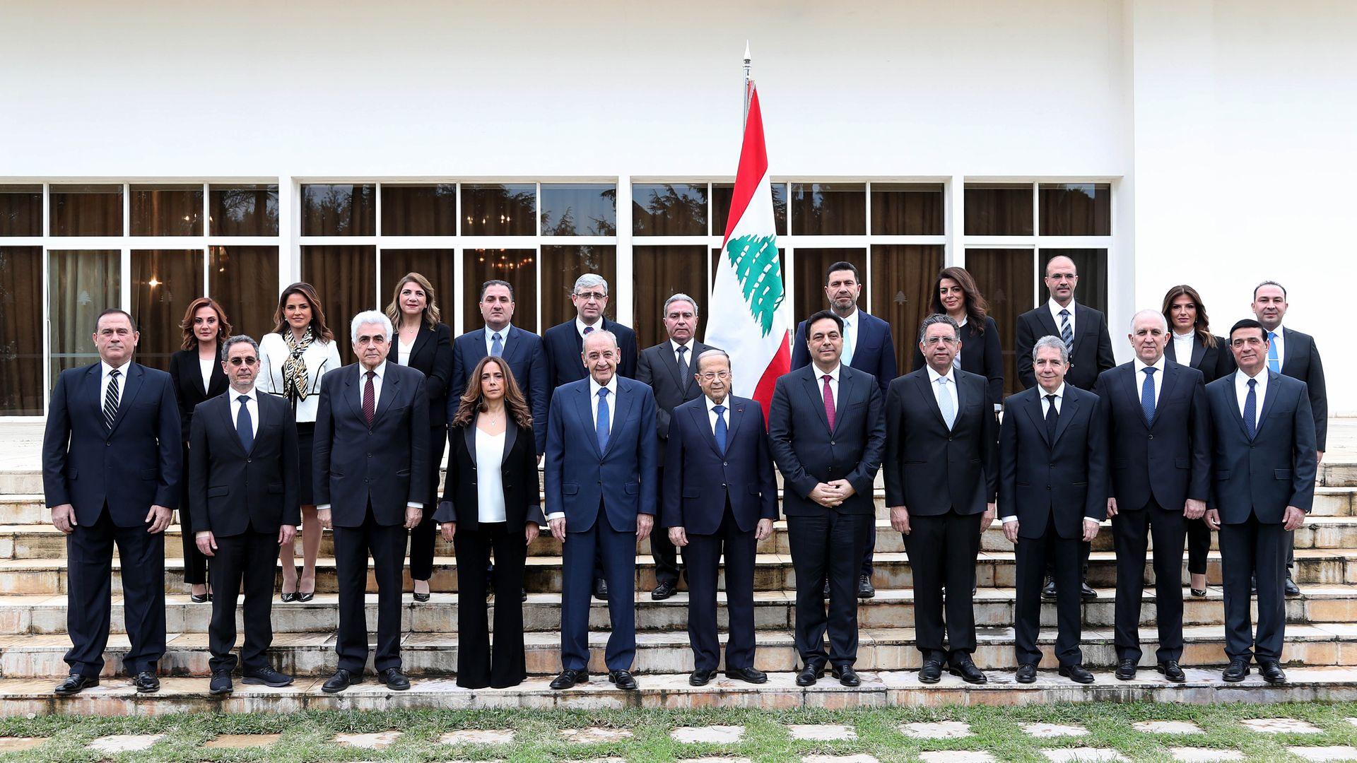 Lebanon's Hezbollah-backed cabinet and prime minister inherit economic crisis