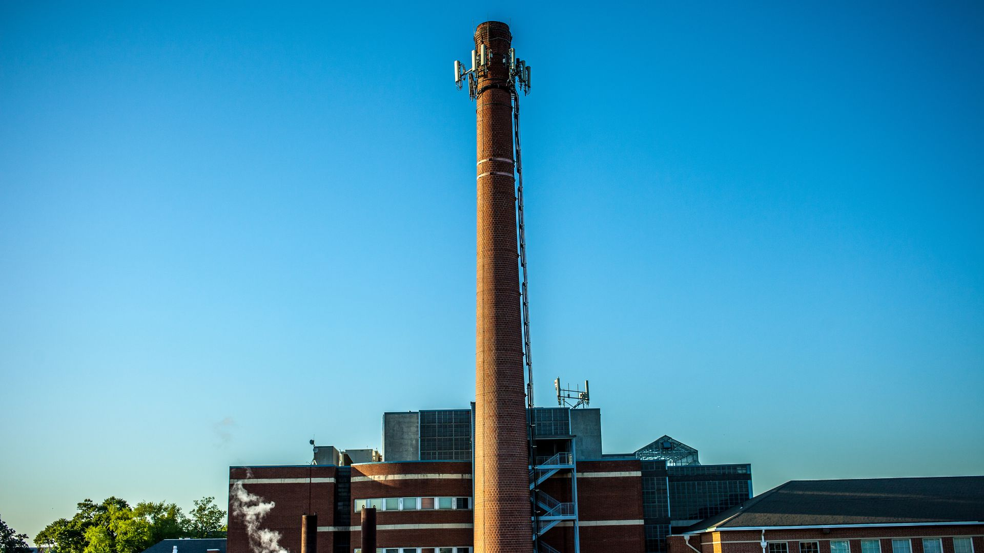Smokestack at Moorehouse College