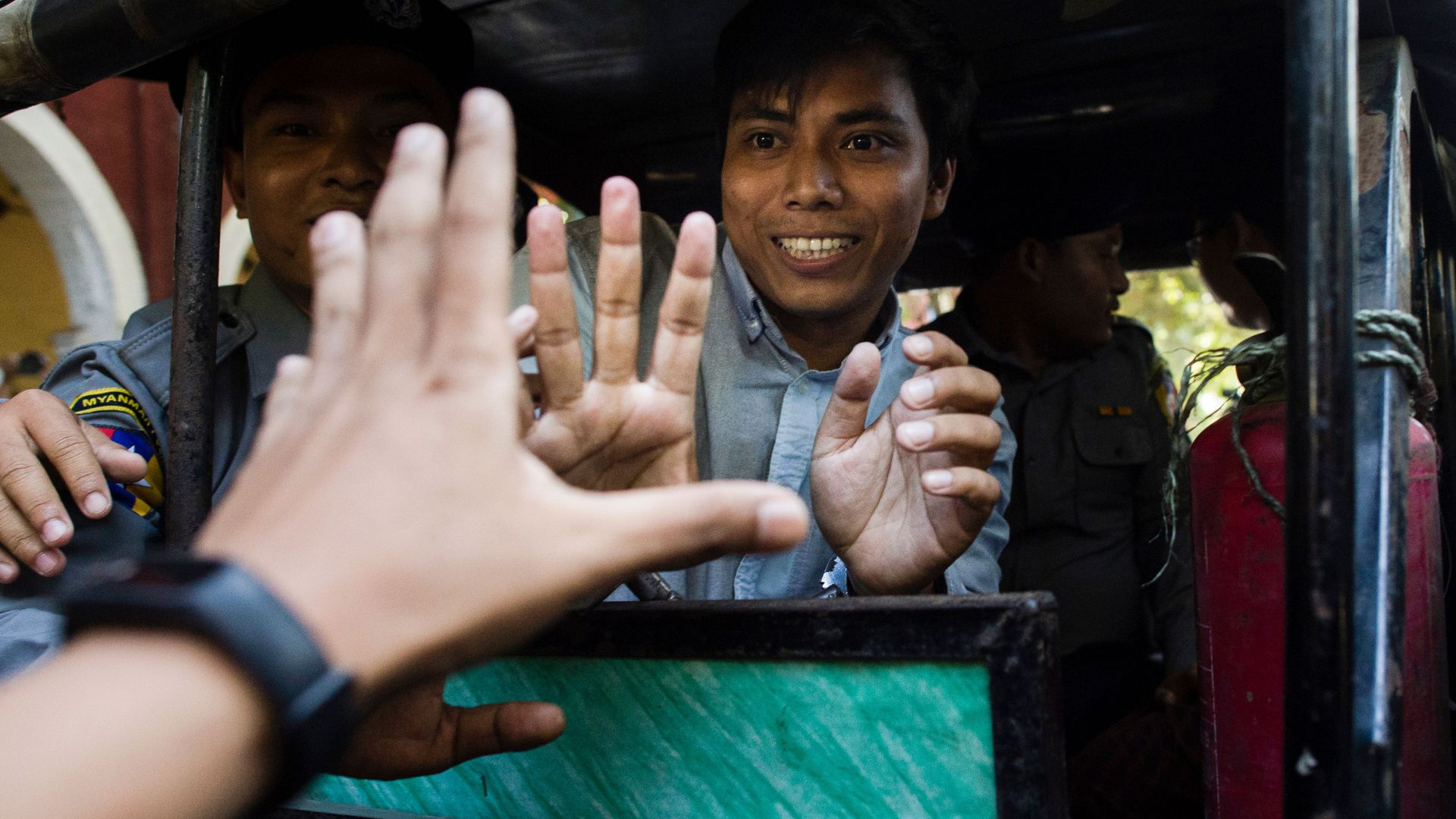Reuters journalist Kyaw Soe Oo.