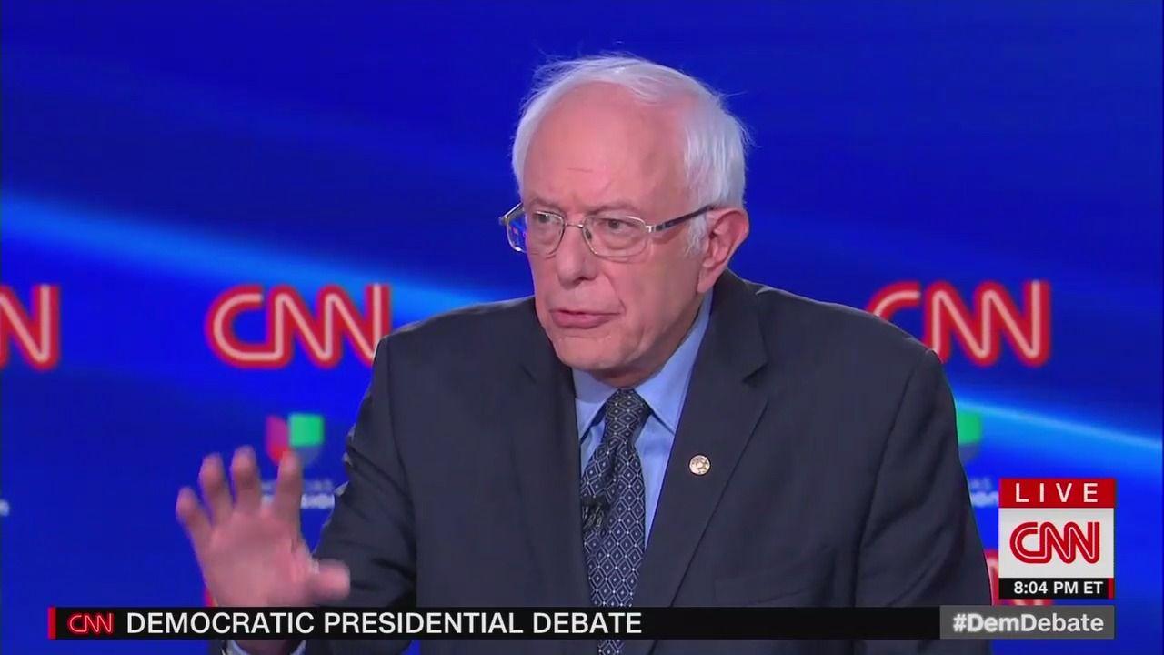 "Sanders: ""We have to shut this president up right now"" to combat coronavirus"