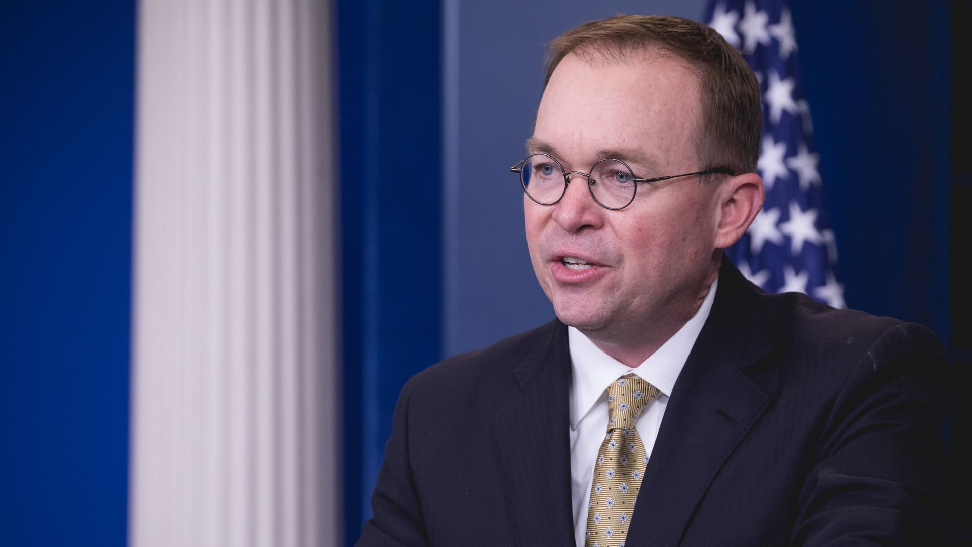Mick Mulvaney, White House budget chief and acting director of the Consumer Financial Protection Bureau