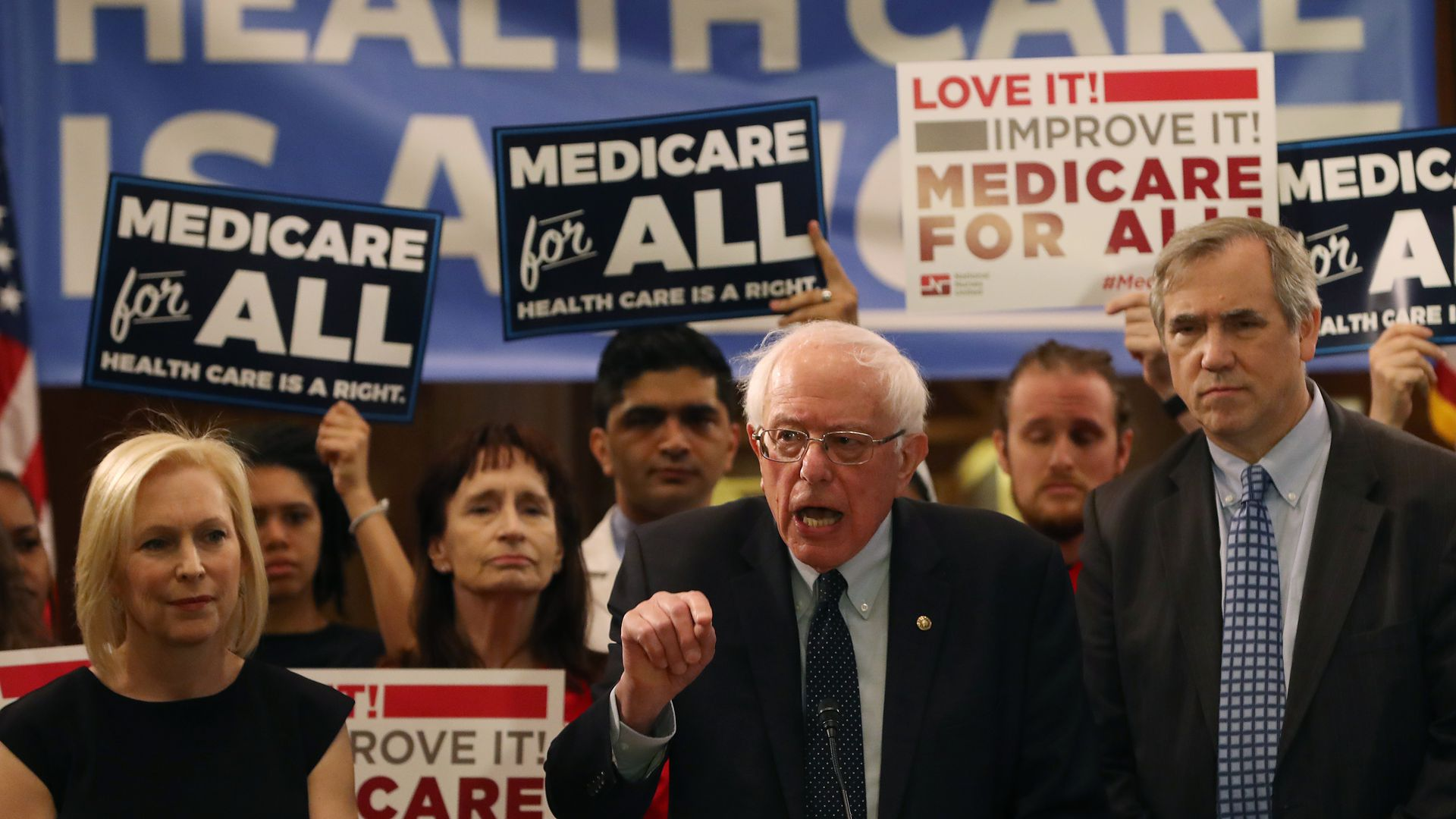 Sen. Bernie Sanders re-introducing Medicare for All