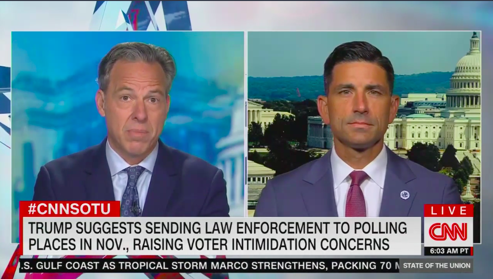Acting Homeland Security chief says he has no authority to send agents to polling stations thumbnail