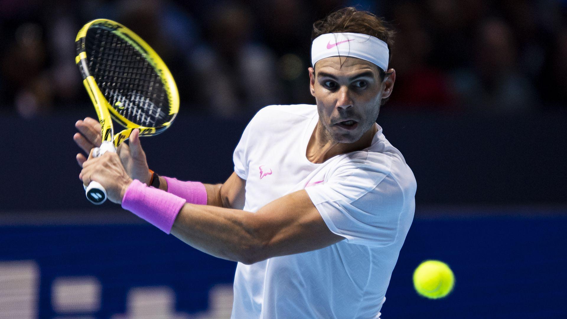 Rafael Nadal of Spain.'