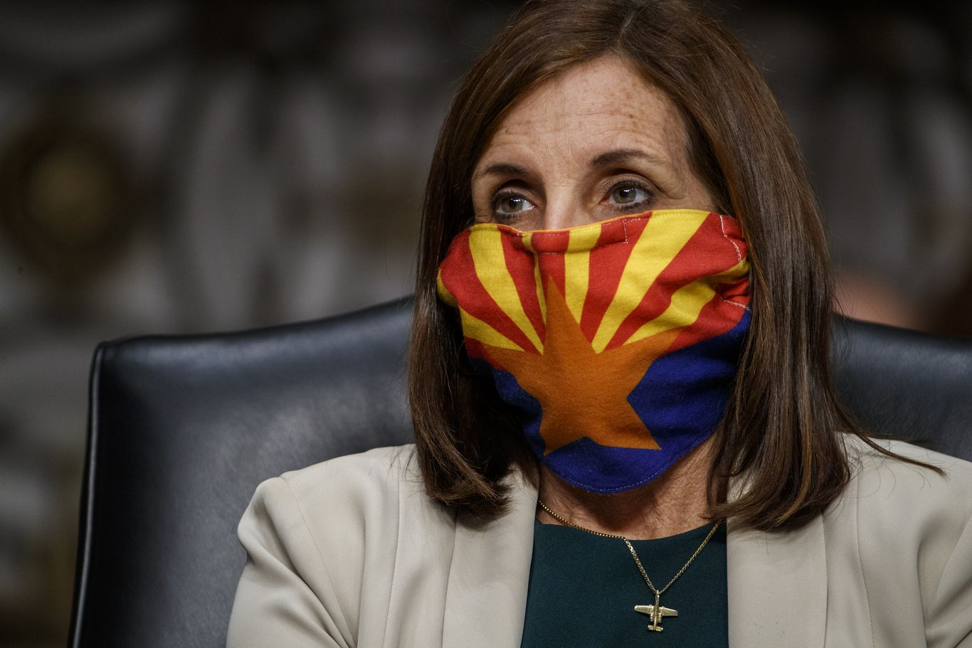 "McSally: GOP would ""never get the Senate back"" if D.C. and Puerto Rico were states"