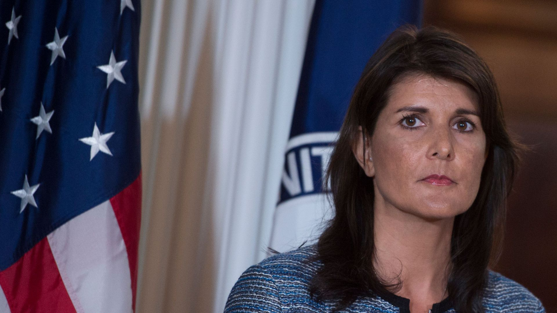 U.S. Ambassador to the United Nation Nikki Haley. Photo: Andrew Caballero/AFP/Getty Images