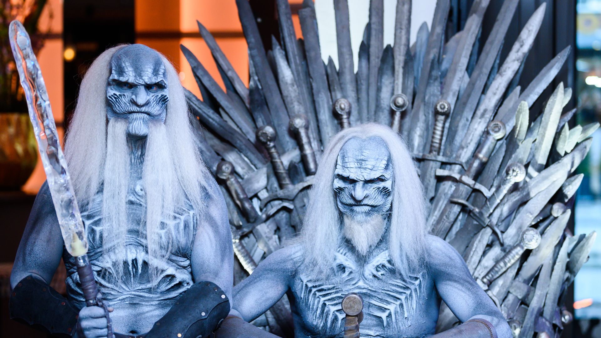Whitewalkers from game of thrones