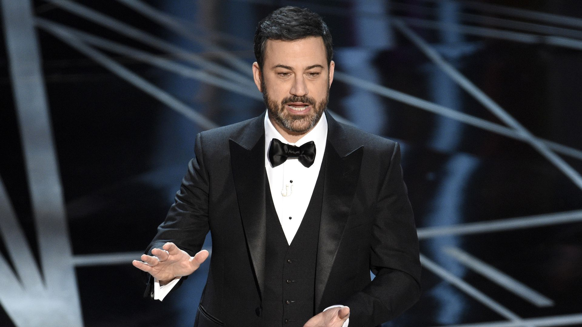 Jimmy Kimmel at the Oscars