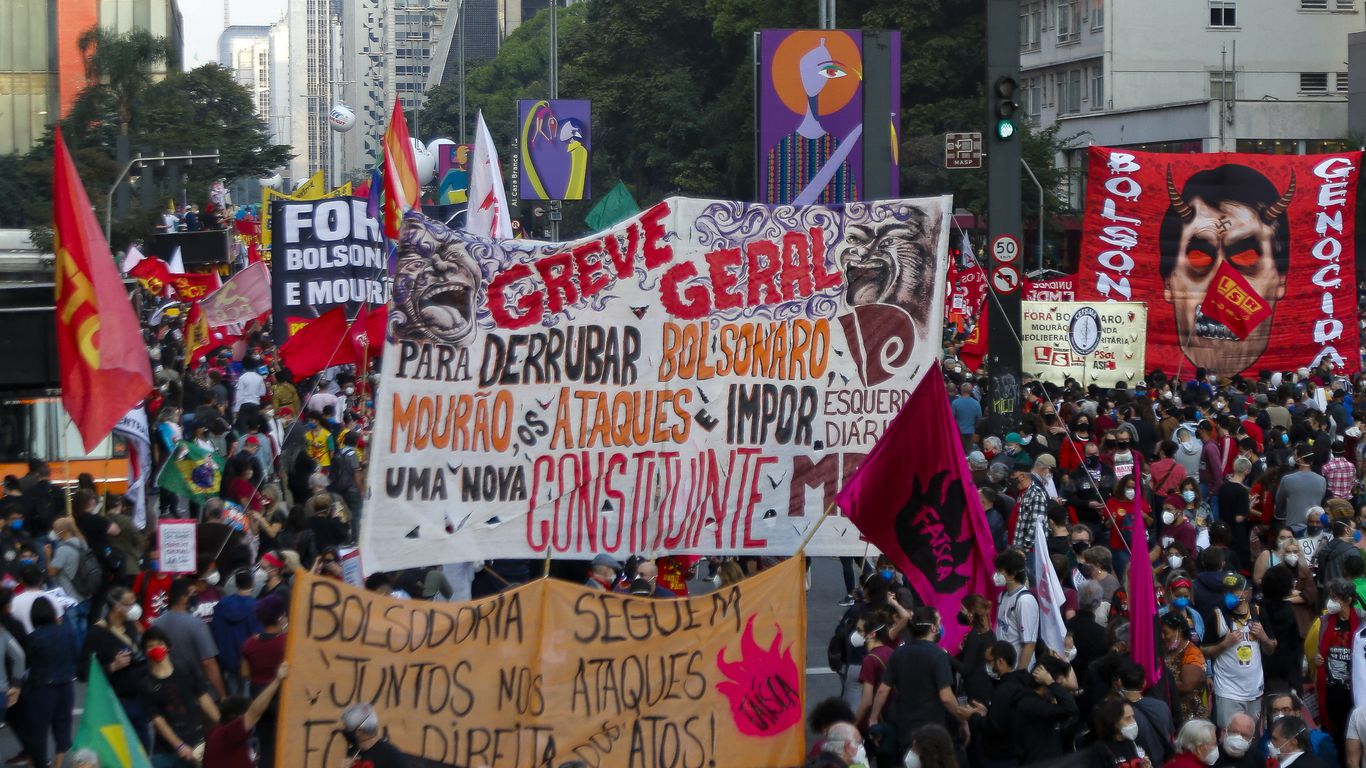 In photos: Protesters demand Brazil president's removal