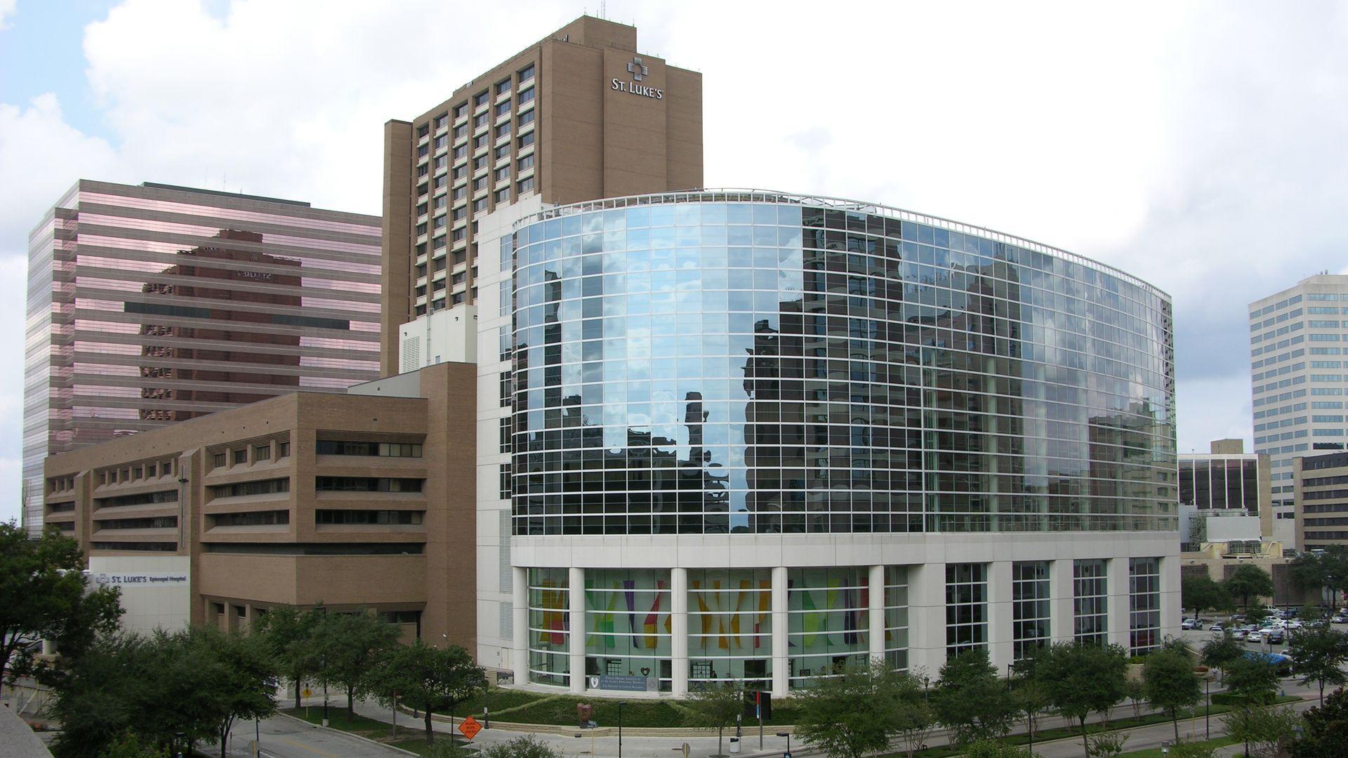 St. Luke's hospital in Houston's Texas Medical Center.
