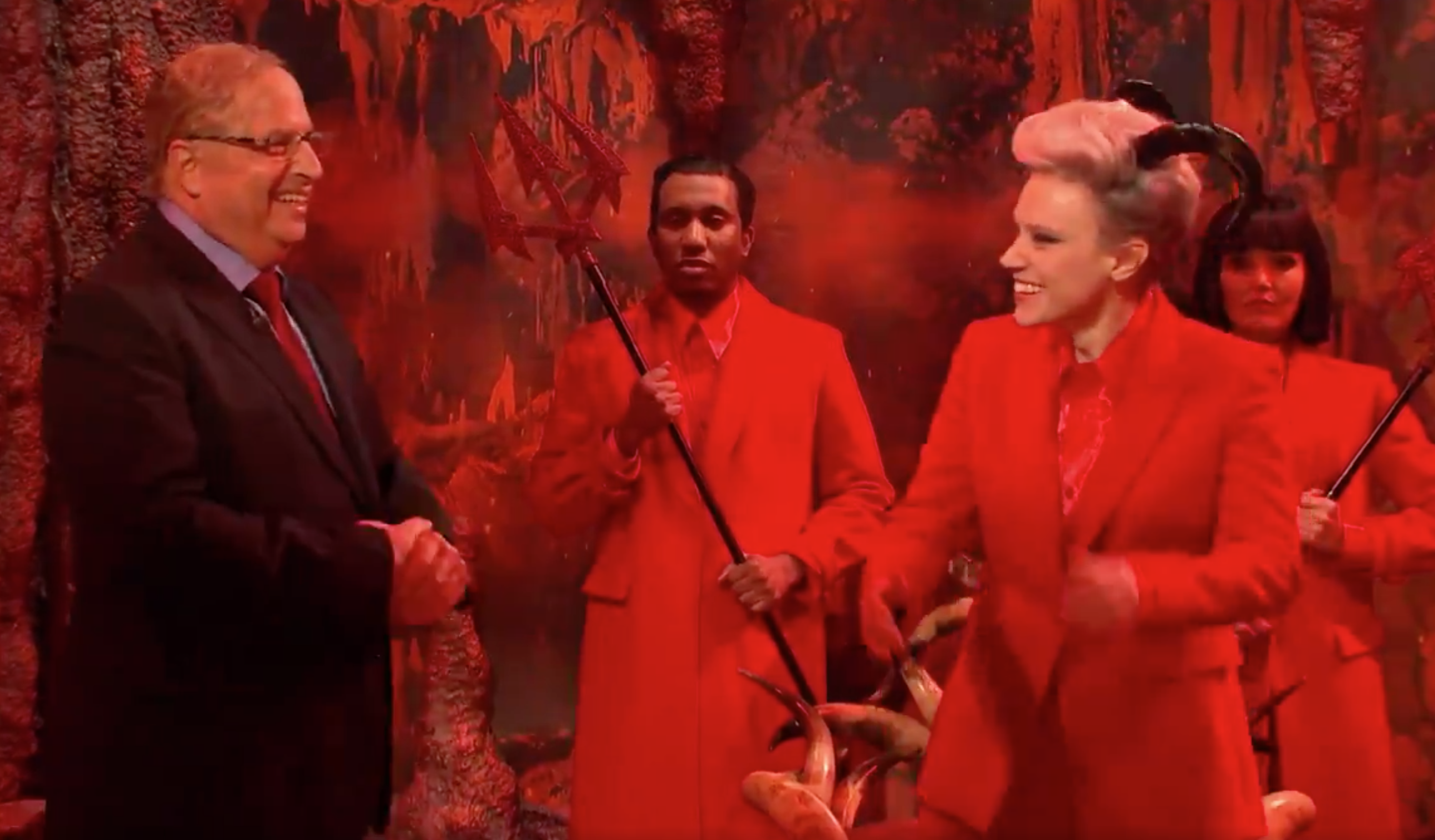"""SNL"": Adam Driver's Epstein meets Jon Lovitz's Dershowitz in hell - Axios"
