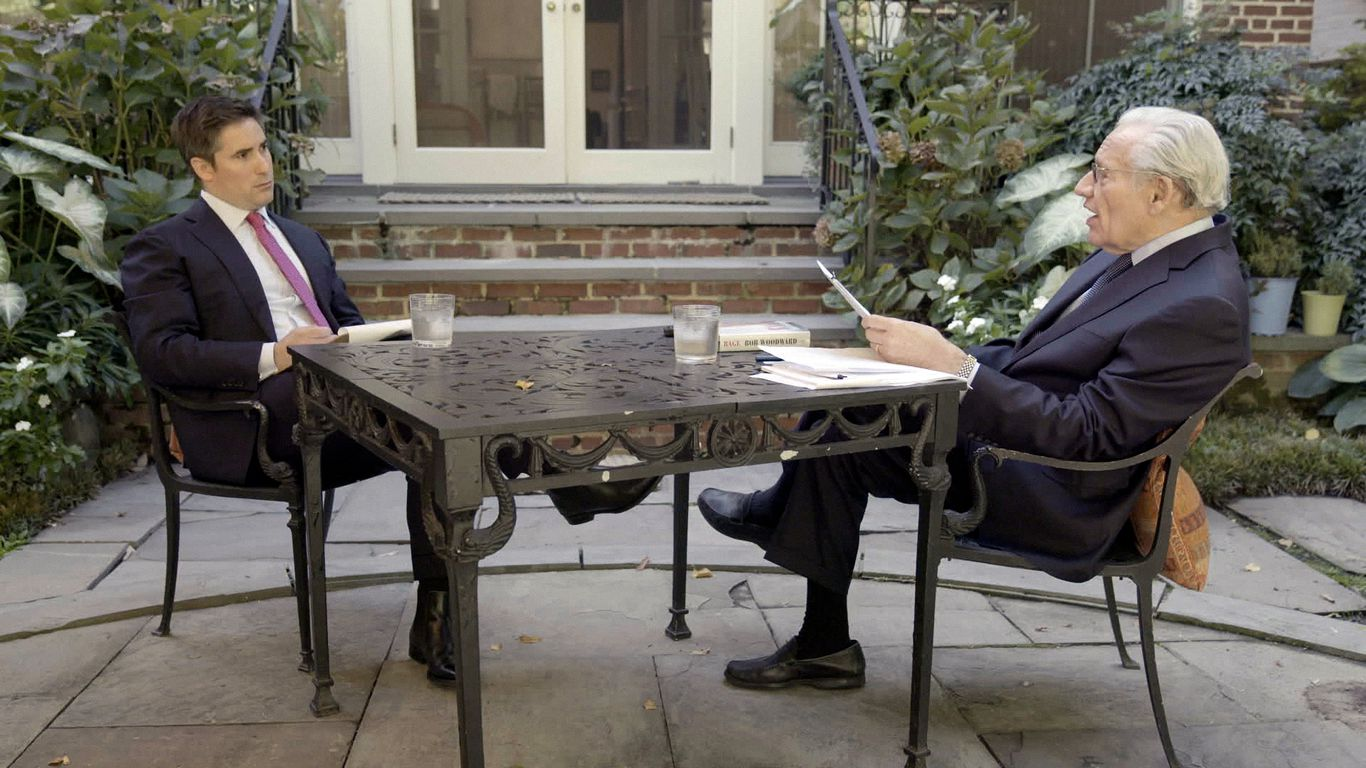 """Preview: """"Axios on HBO"""" interviews Bob Woodward"""