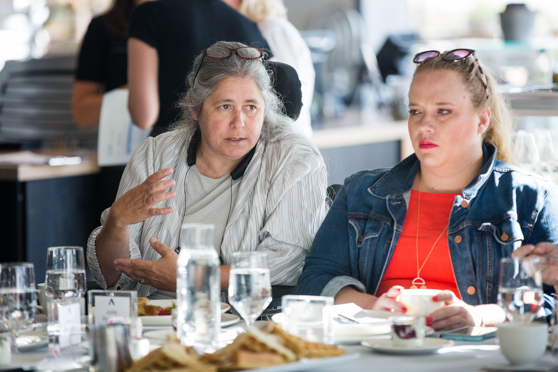 Julie Reiskin, head of Colorado's Cross-Disability Coalition.