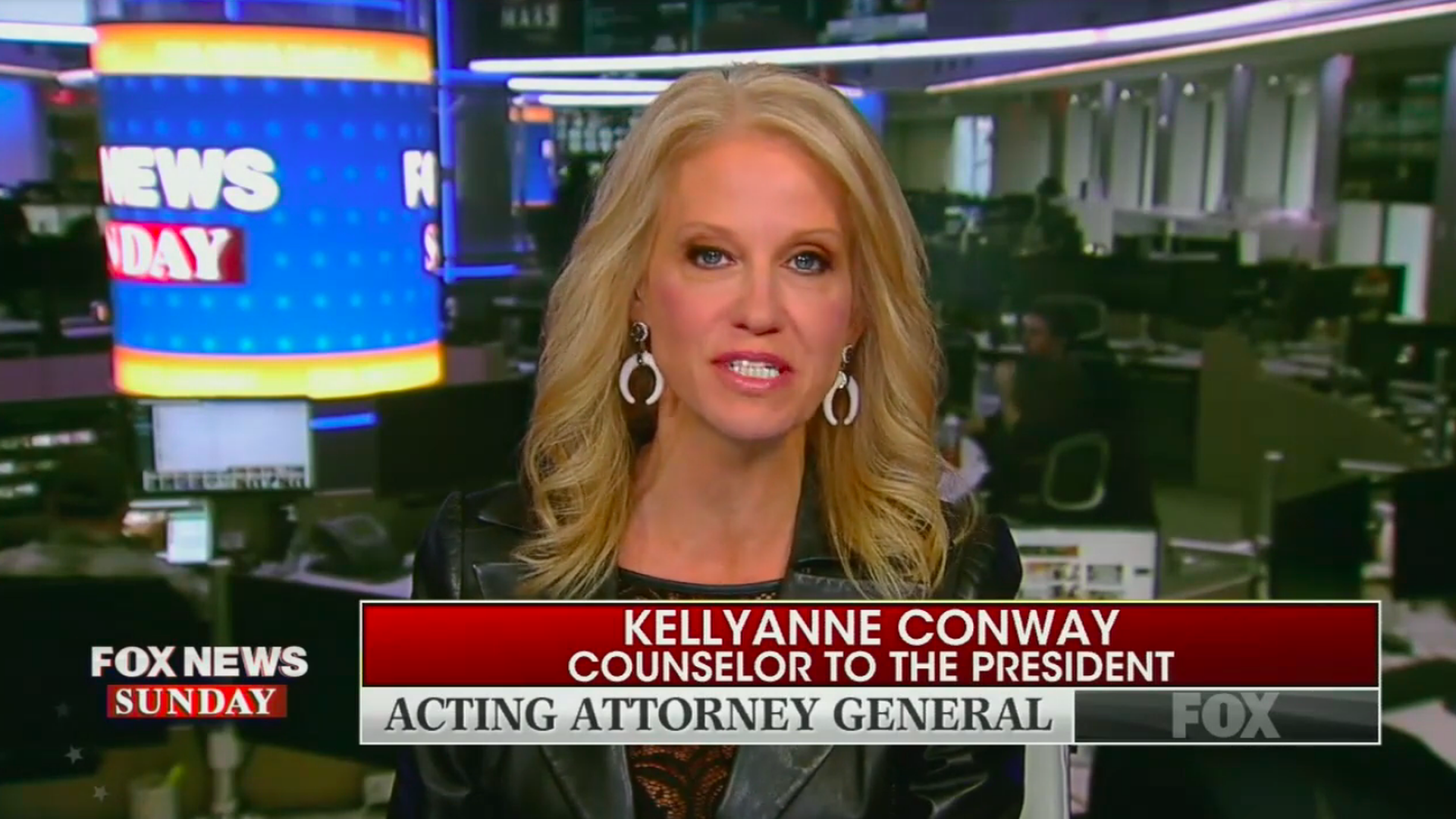 "Kellyanne on her husband's Whitaker op-ed: ""I don't need to put it on the opinion pages"""
