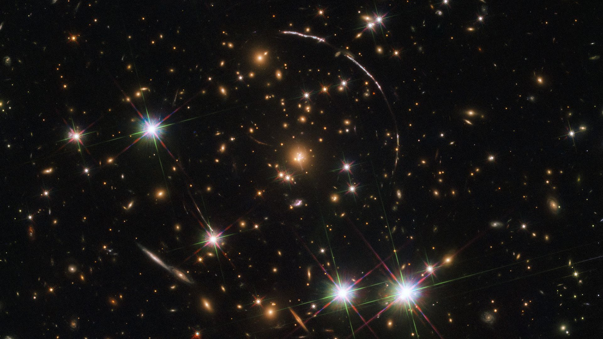 Your weekly dose of awe: A space-time warp