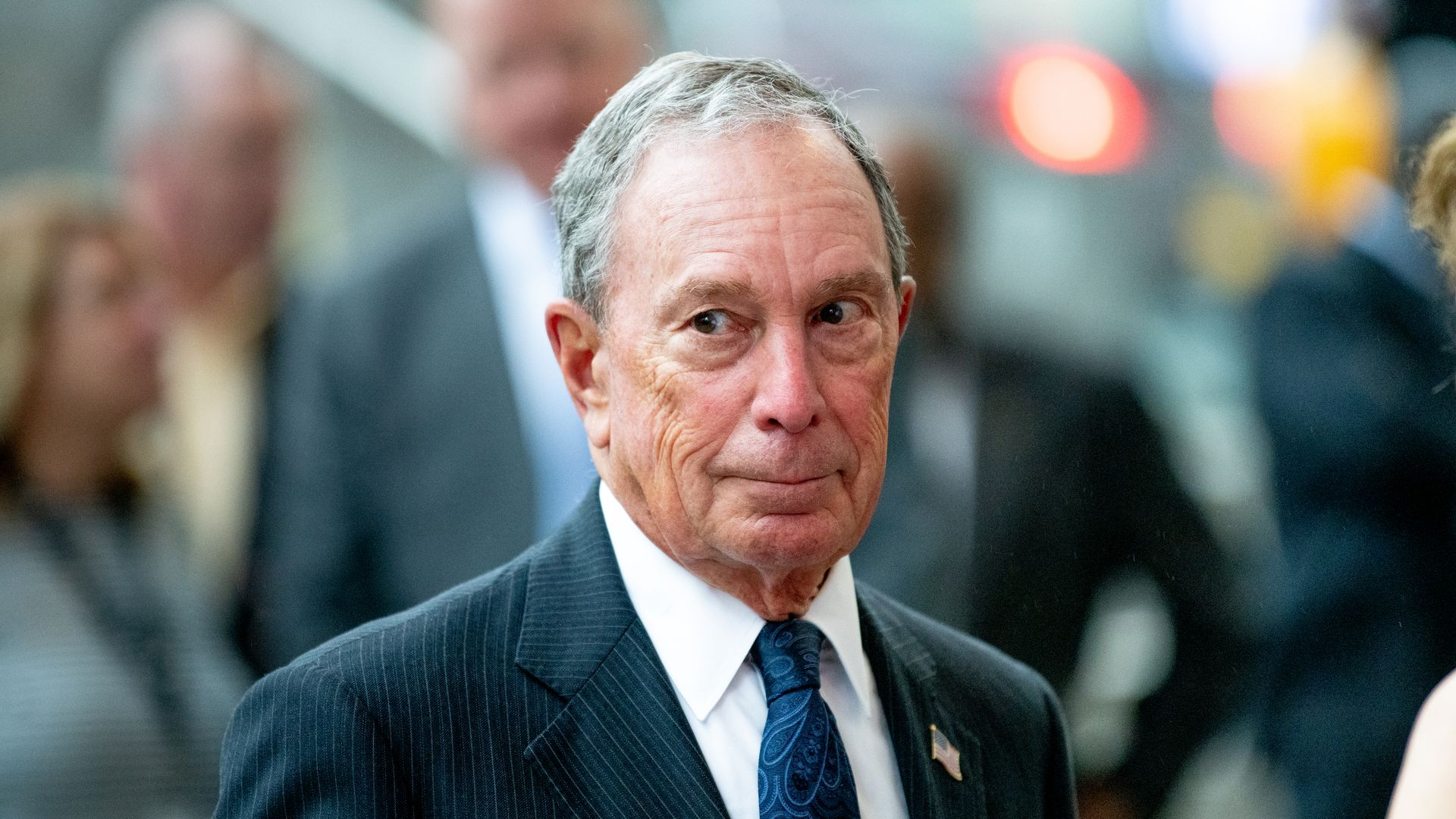 Former New York City mayor and billionaire Michael Bloomberg