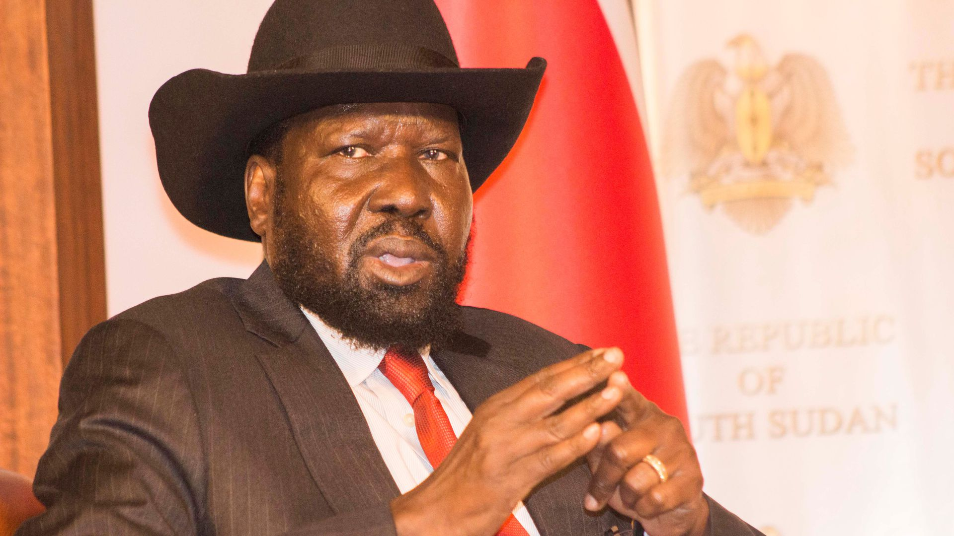 South Sudanese president