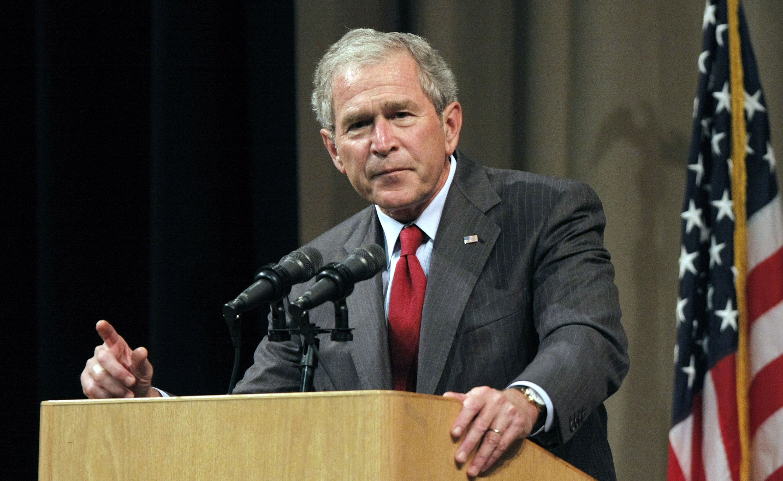 George W. Bush breaks silence on George Floyd