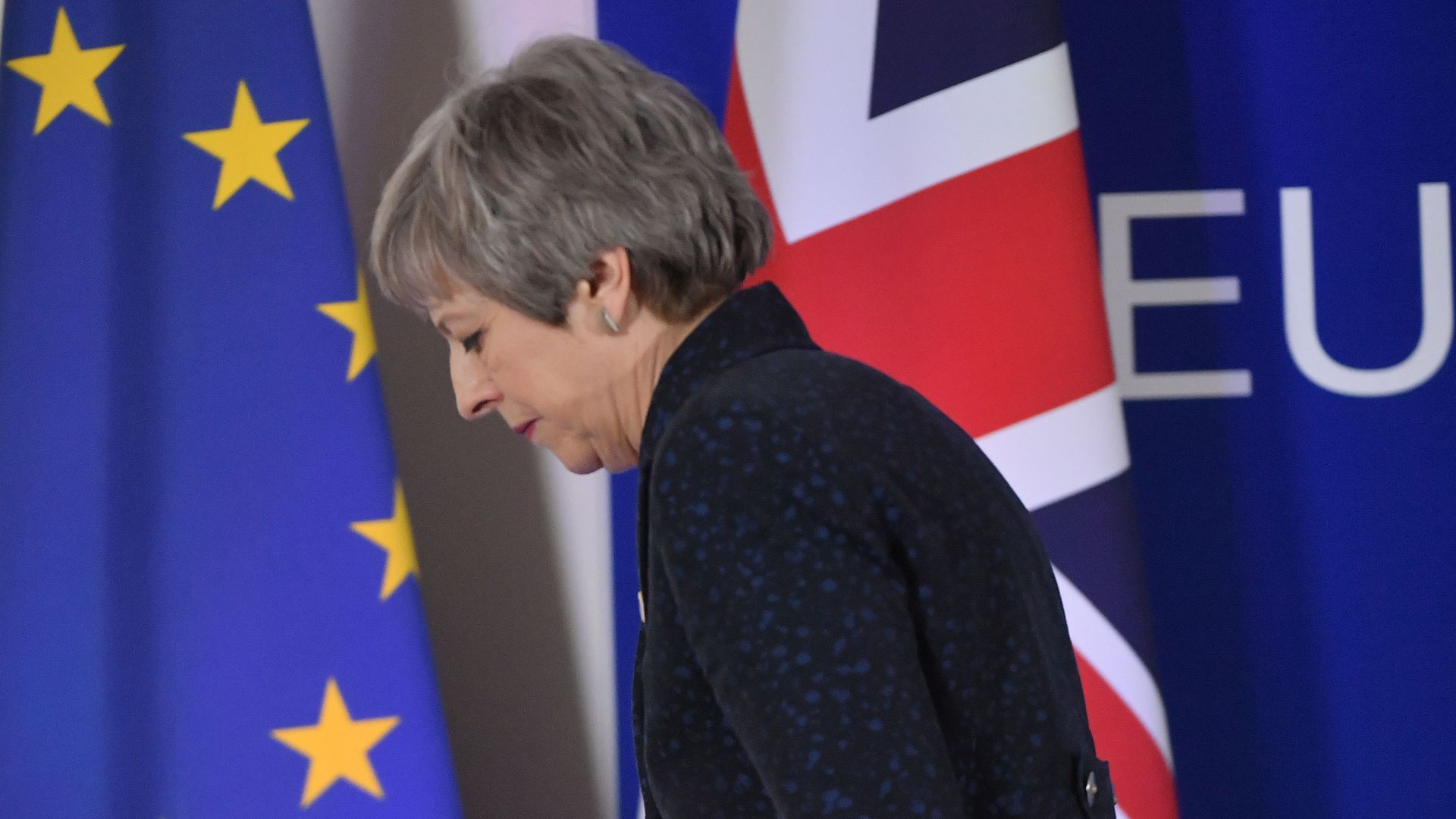 British Prime Minister Theresa May has temporarily lost control of the Brexit process.
