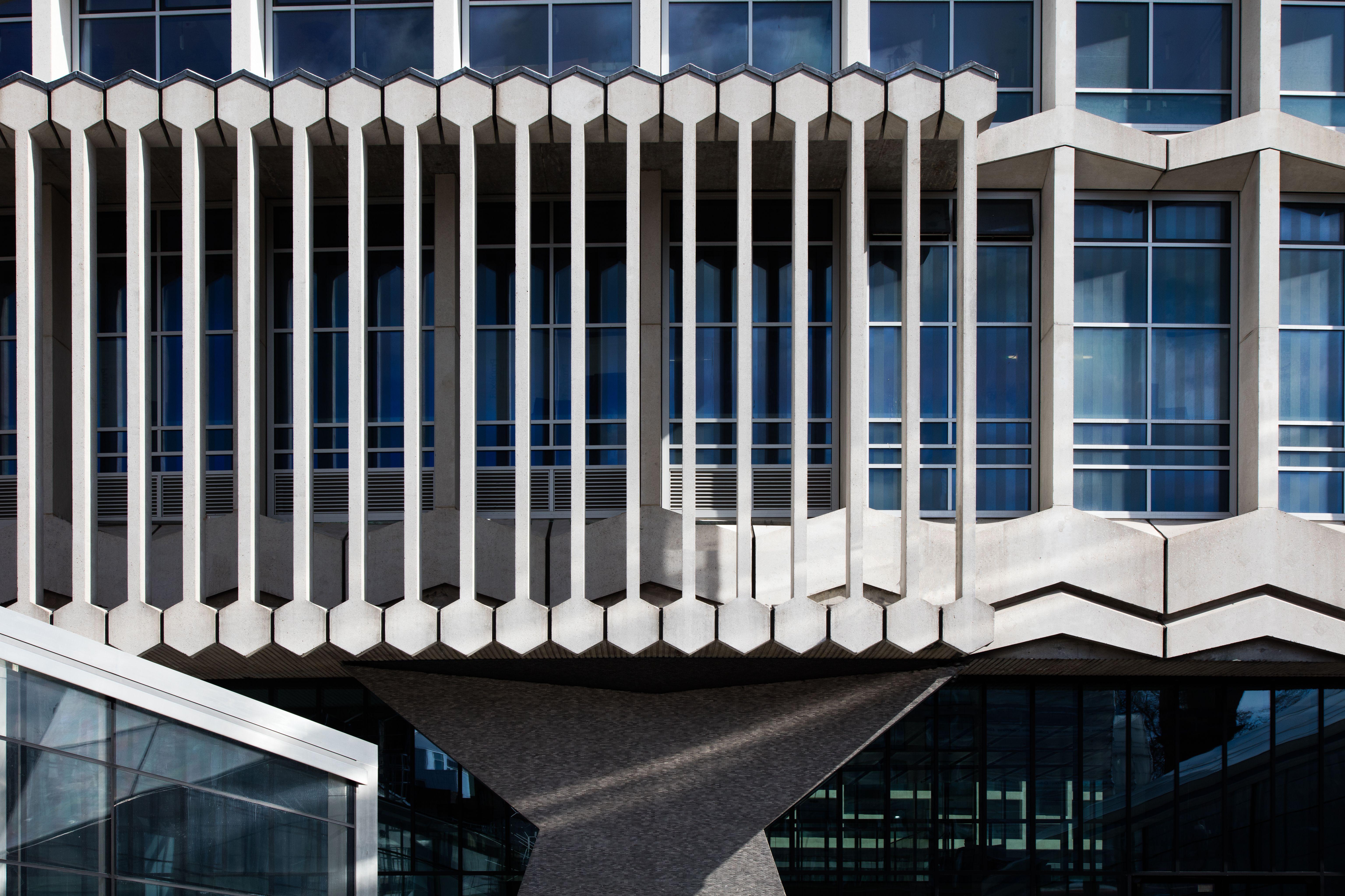 The facade of Centre Point, London