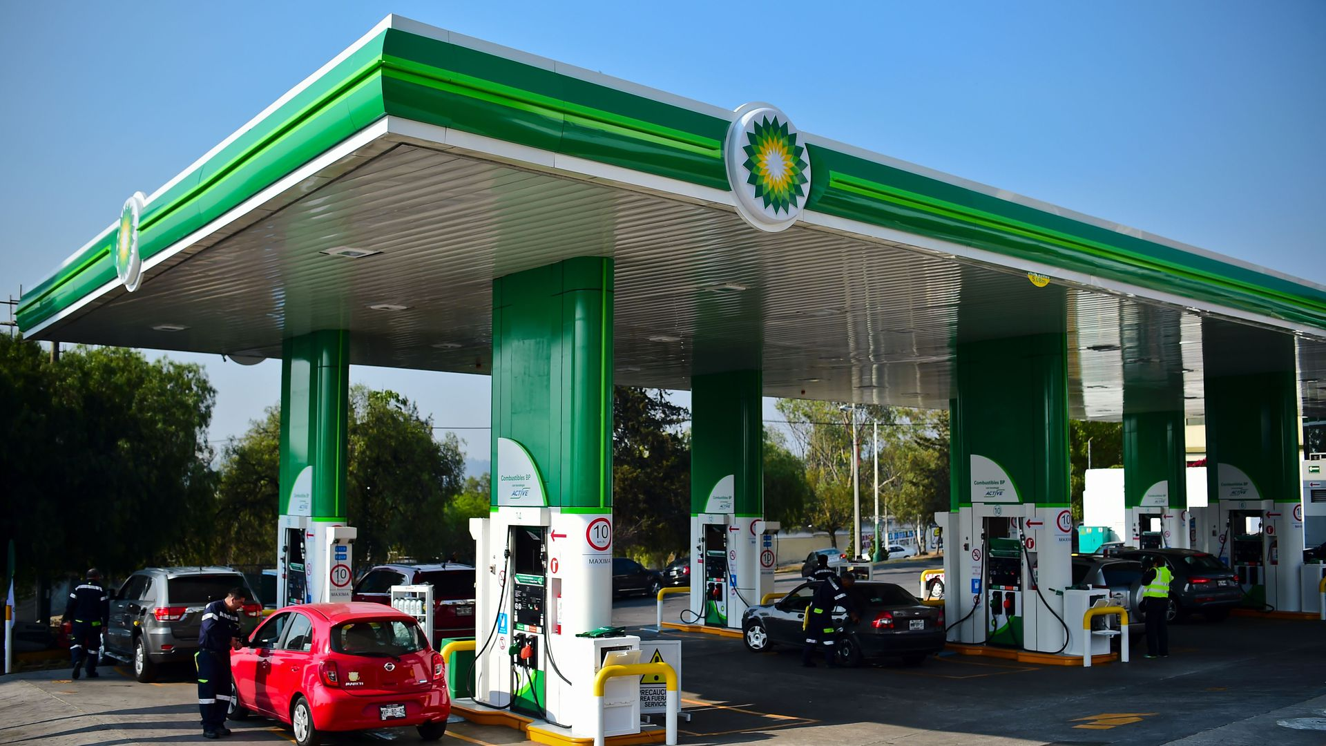 A BP Gas station in Mexico