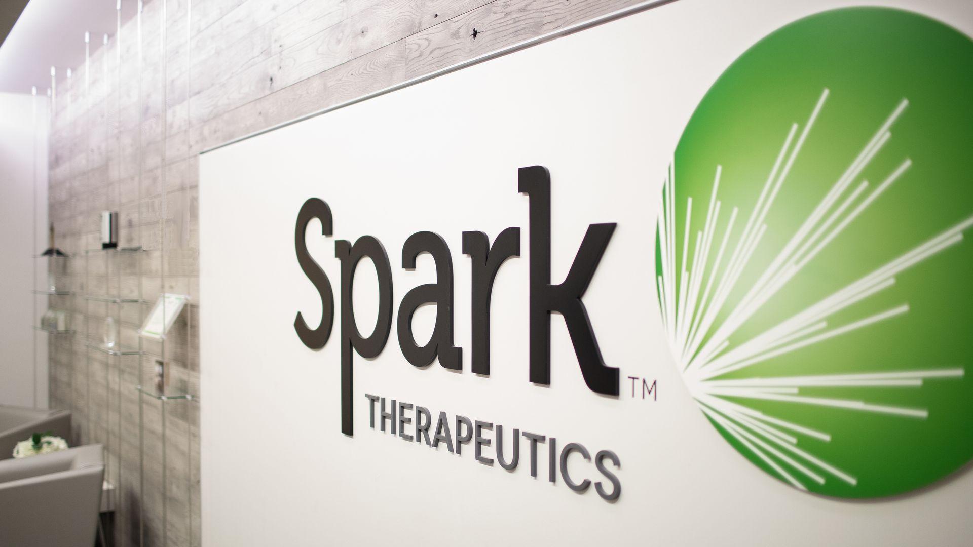Spark Therapeutics logo.