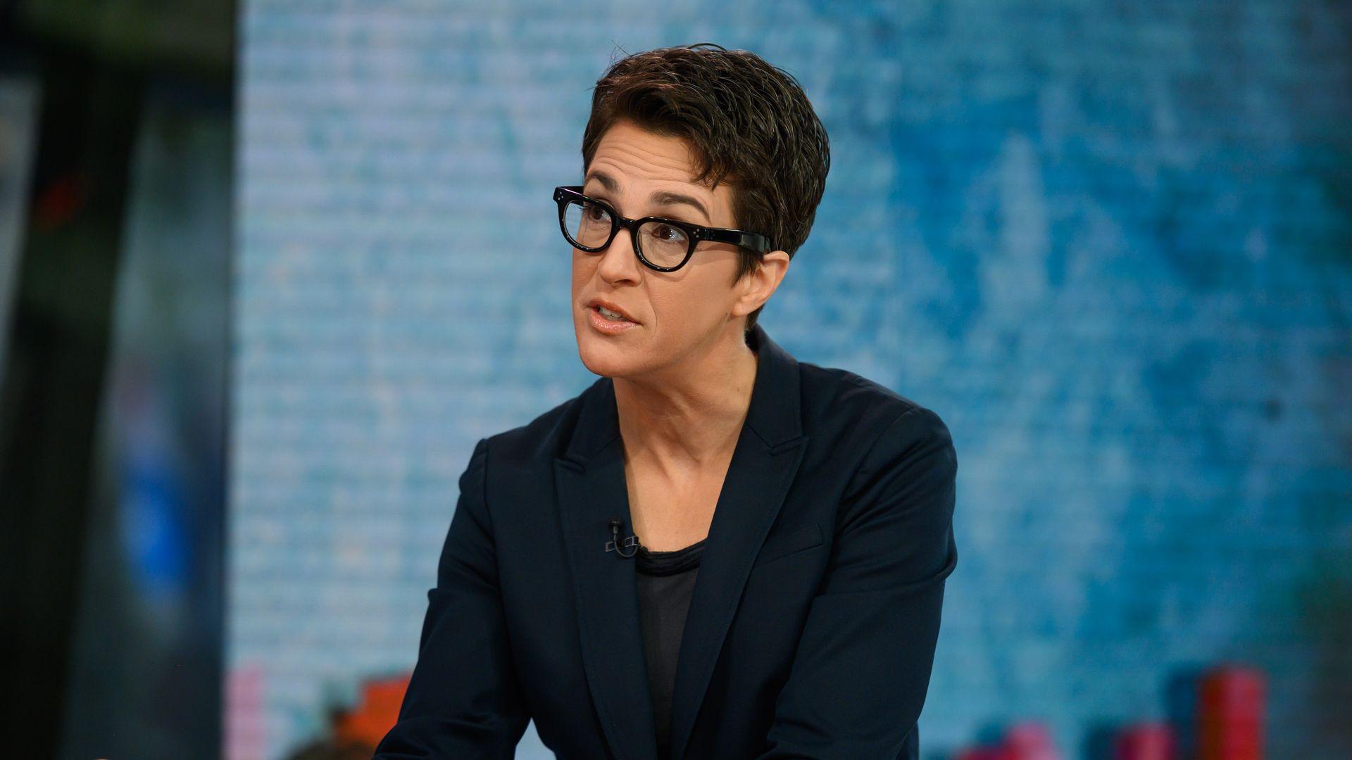 MSNBC Anchor Rachel Maddow