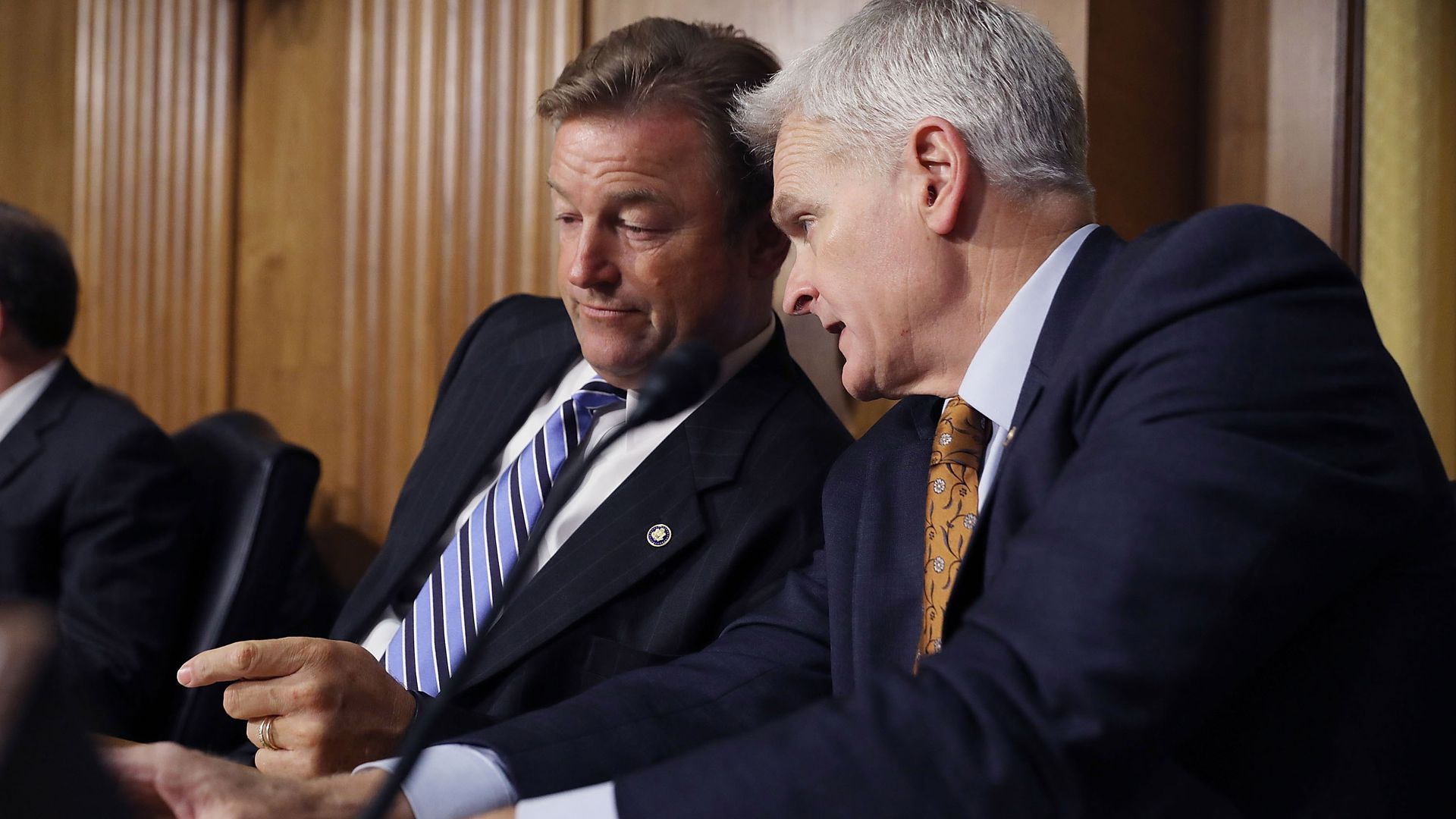 Sens. Dean Heller and Bill Cassidy