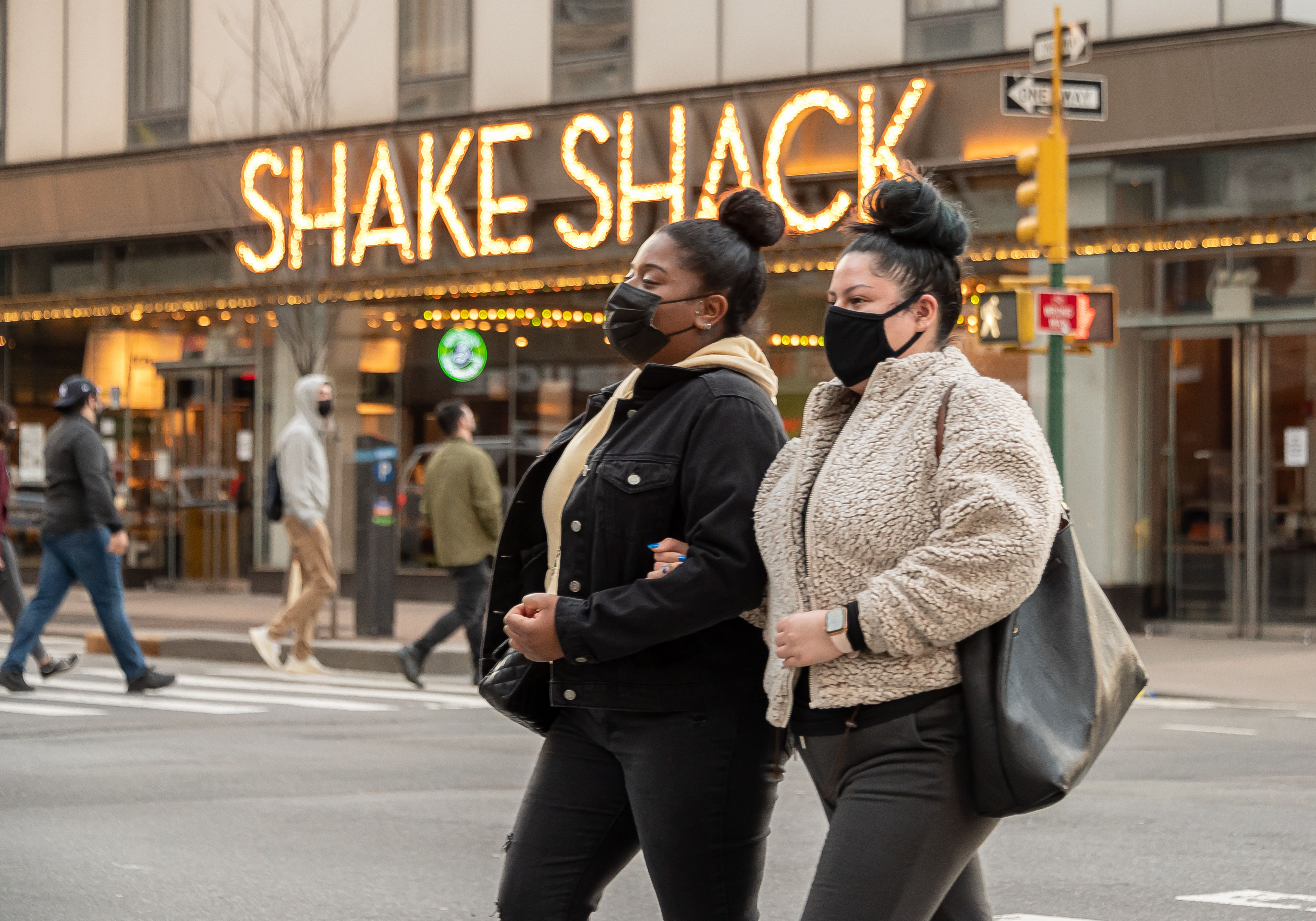A Shake Shack storefront