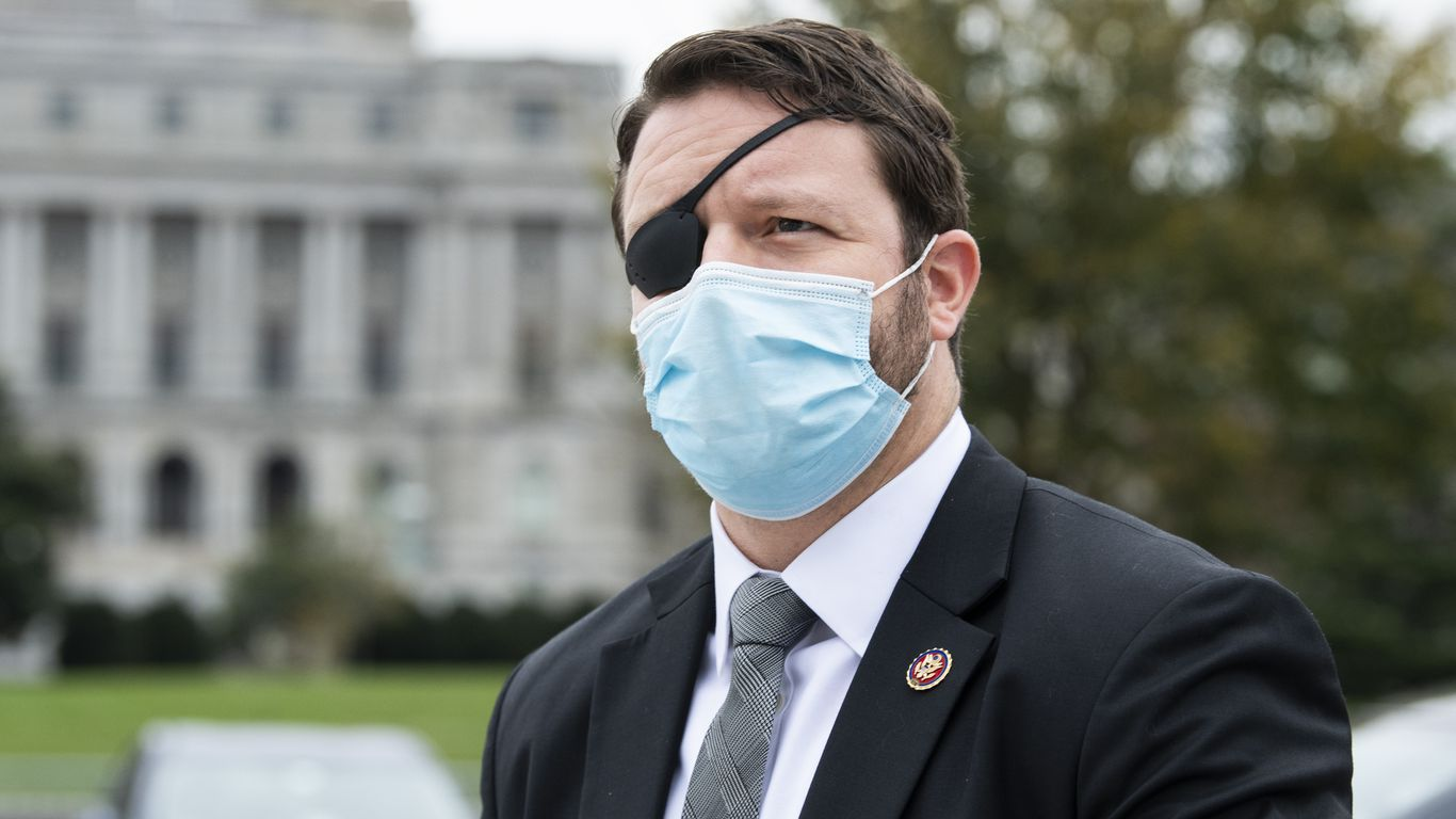 Rep. Dan Crenshaw says he'll be blind for a month after eye surgery thumbnail