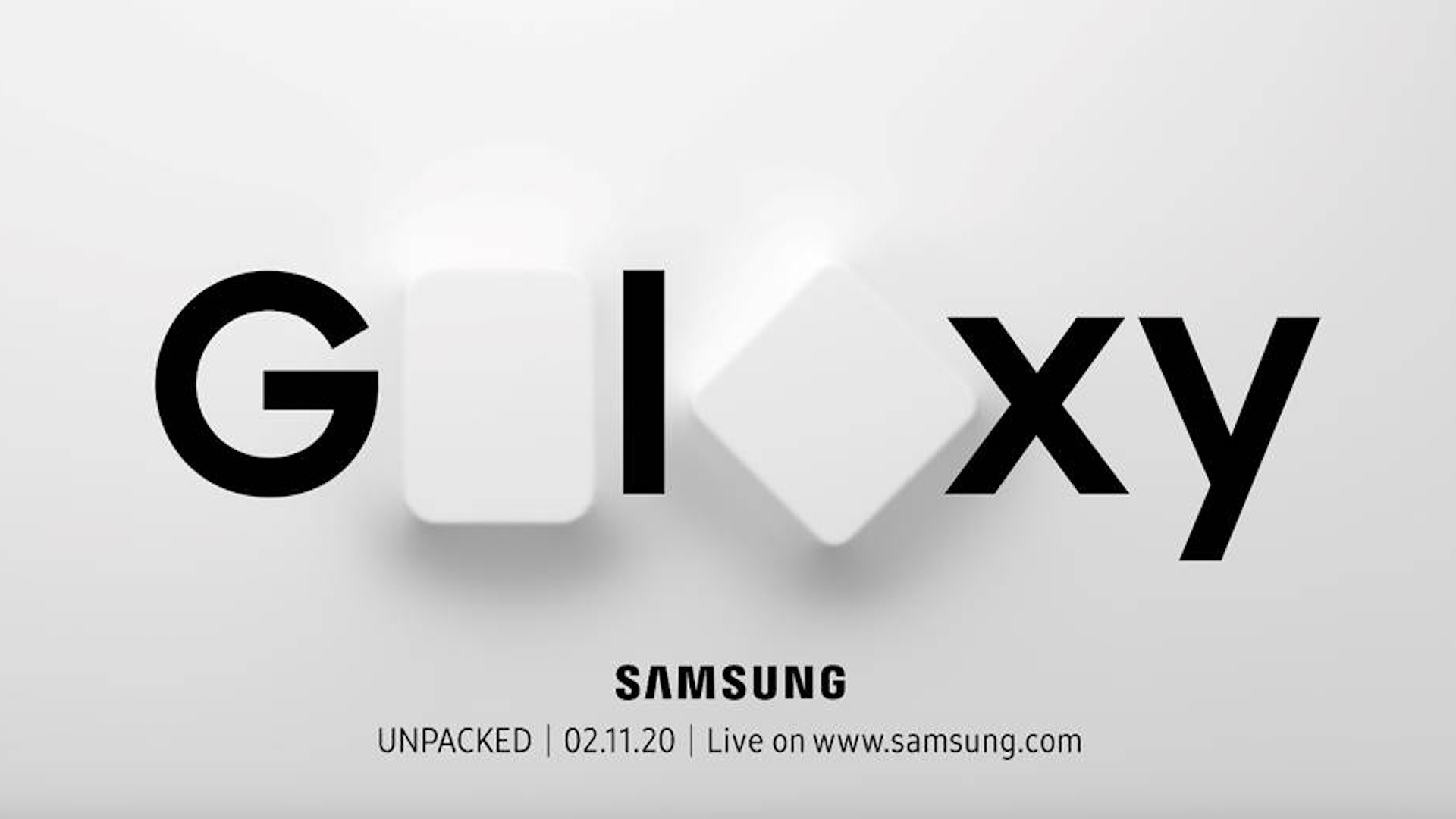 A teaser for Samsung's Feb. 11 Galaxy Unpacked event