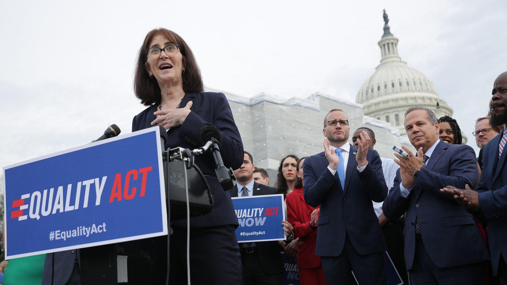 House passes sweeping bill to ban LGBTQ discrimination