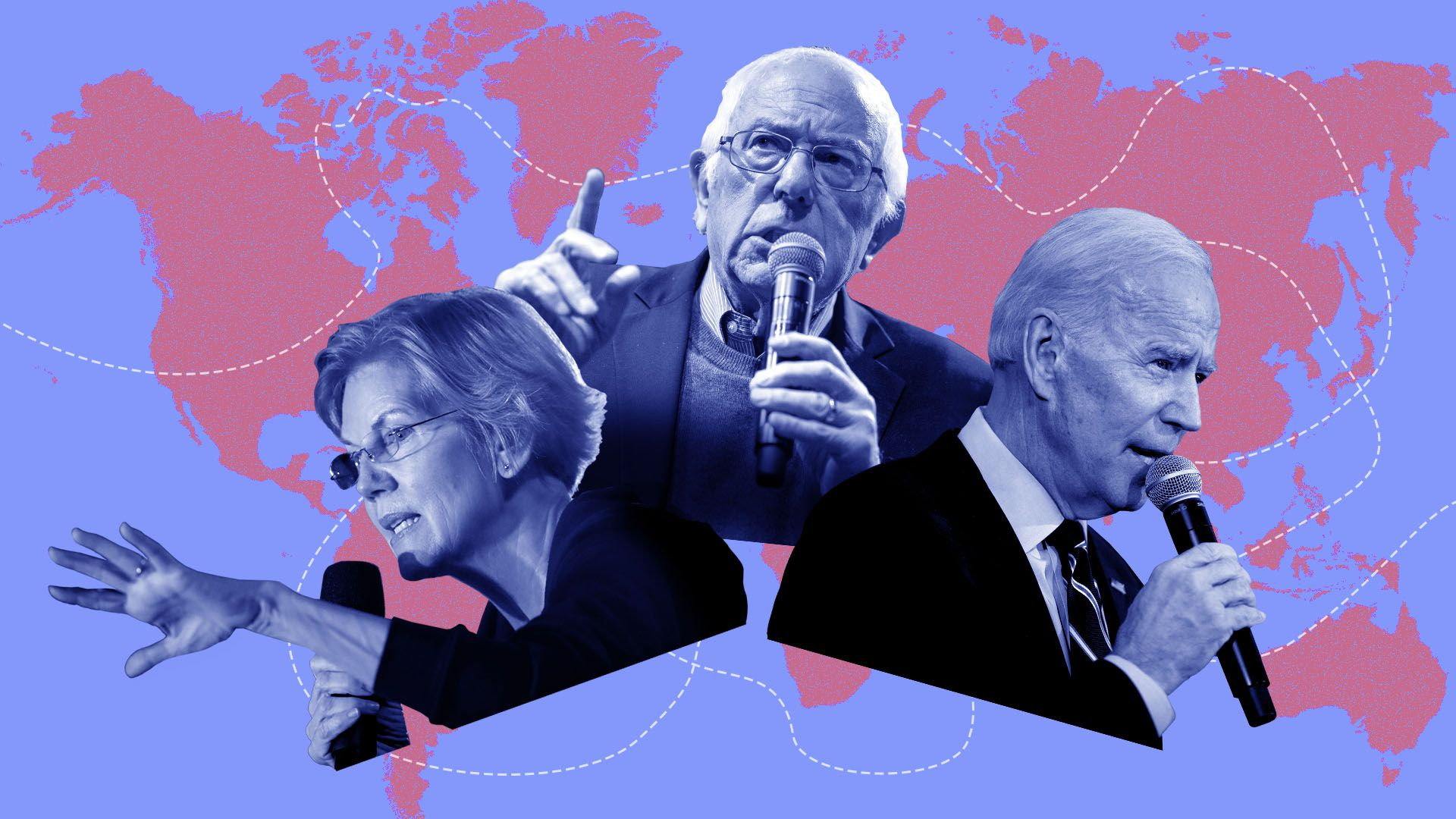 2020 election: How Biden, Sanders and Warren differ on foreign policy