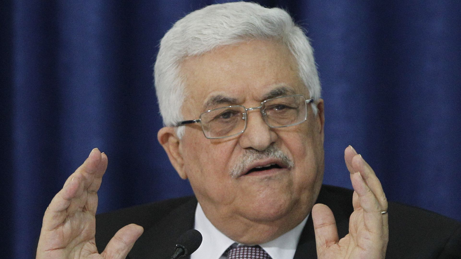 Palestinian leader: Trump just withdrew from peace process