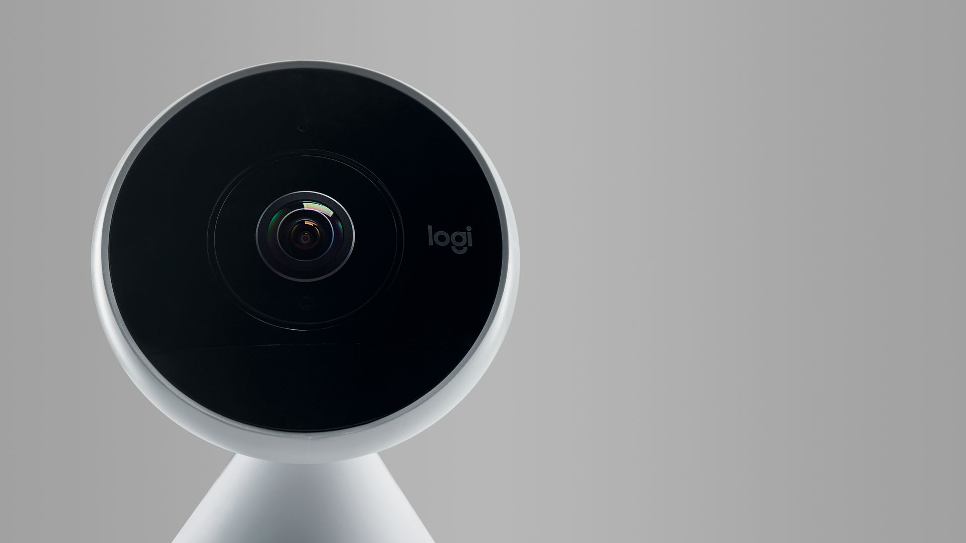 A smart home security camera