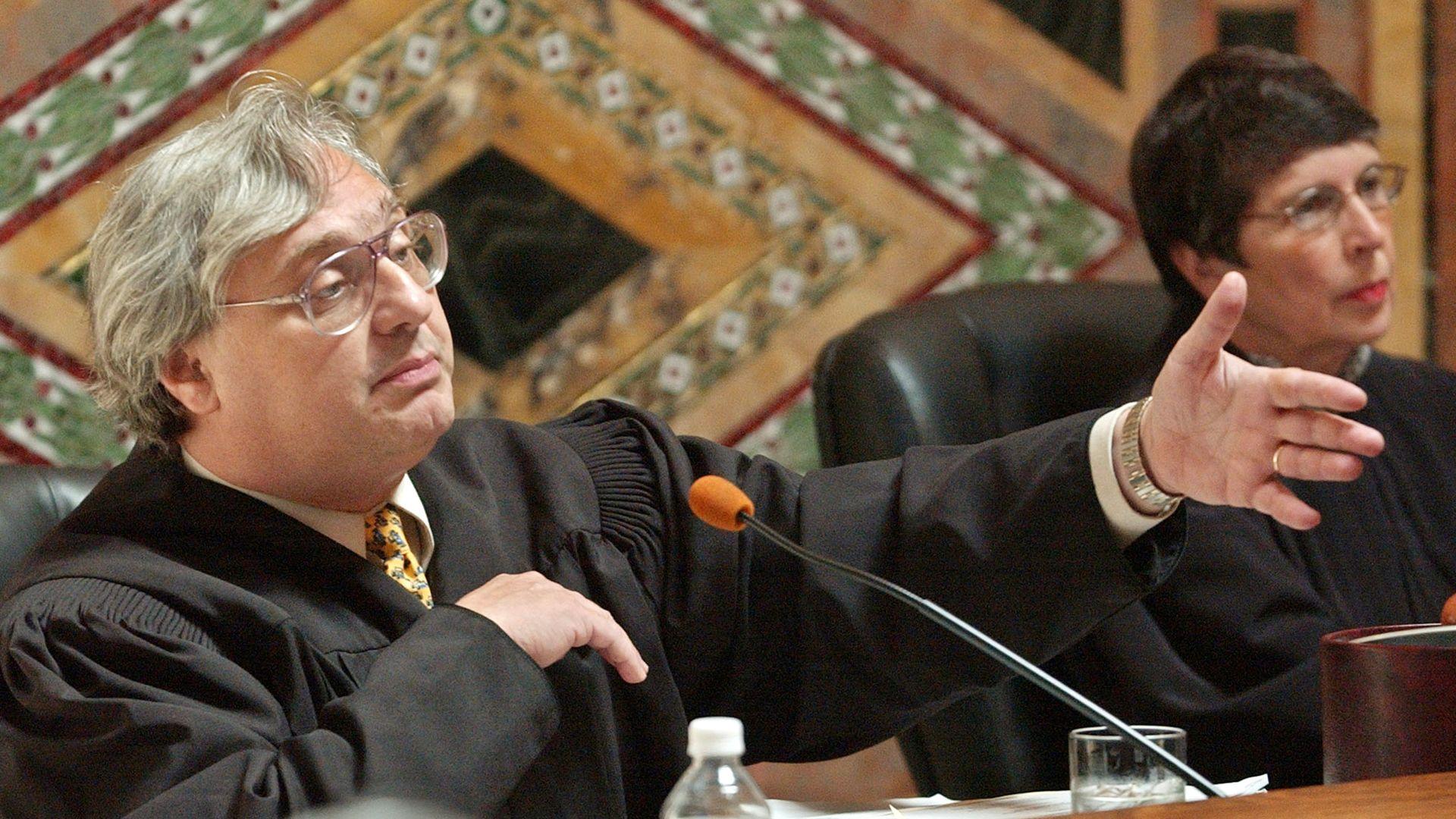 Judge Alex Kozinski, of the 9th U.S. Circuit Court of Appeals.