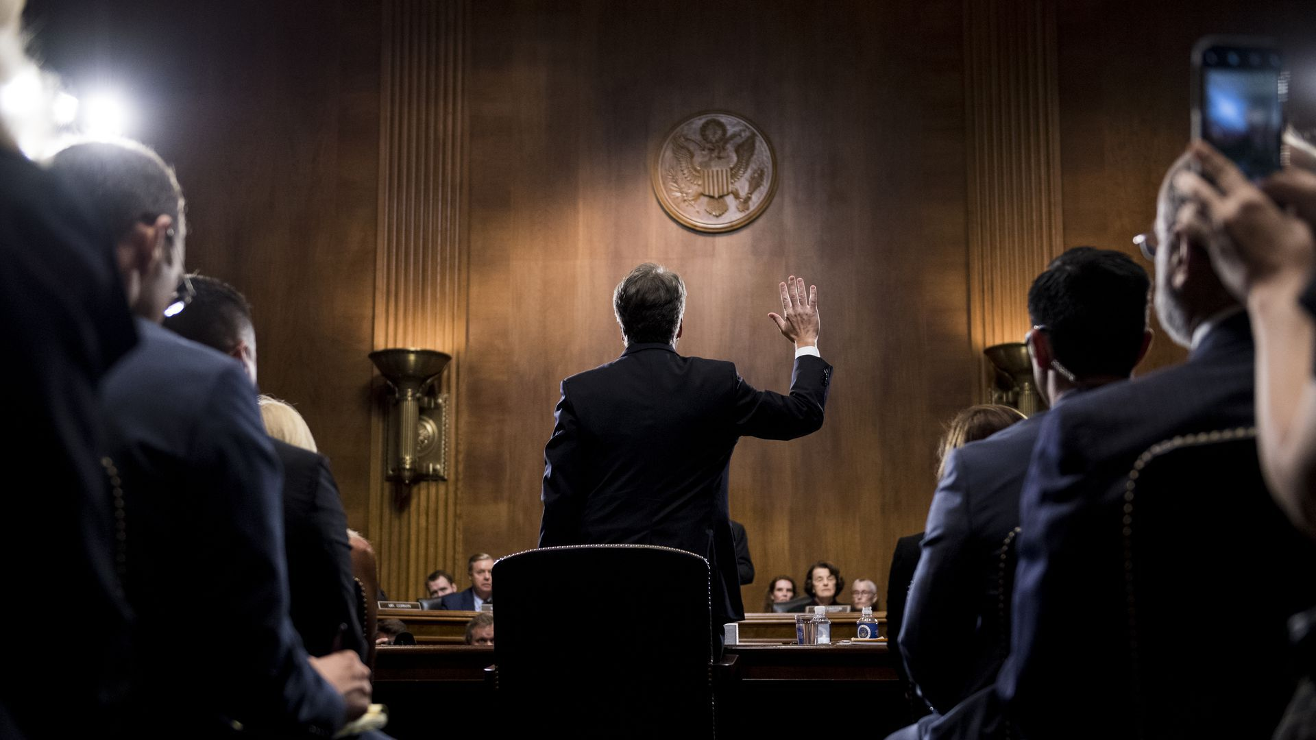 Brett Kavanaugh testifies before the senate judiciary committee