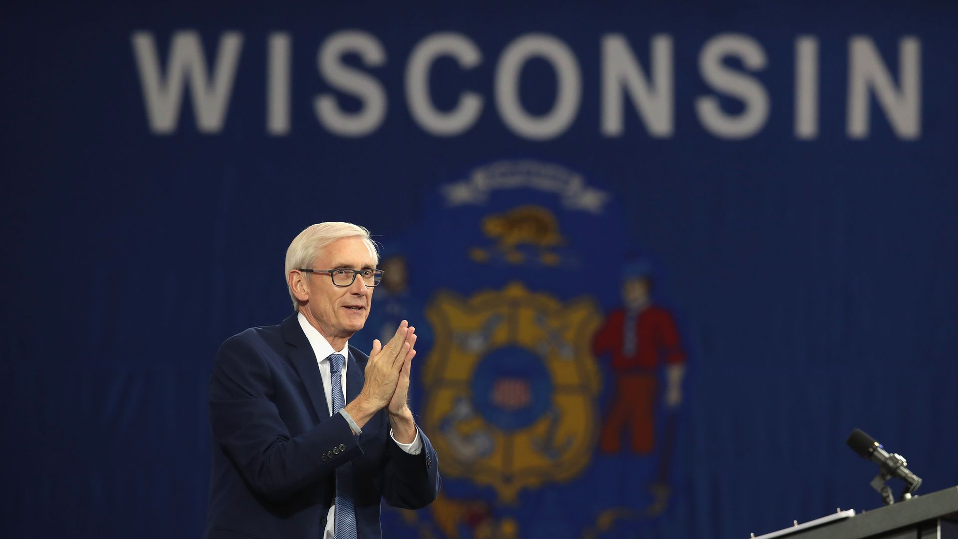 Wisconsin Democratic Gov. Tony Evers.