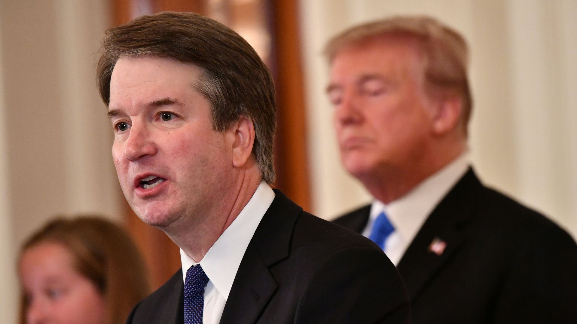 Brett Kavanaugh and President Trump