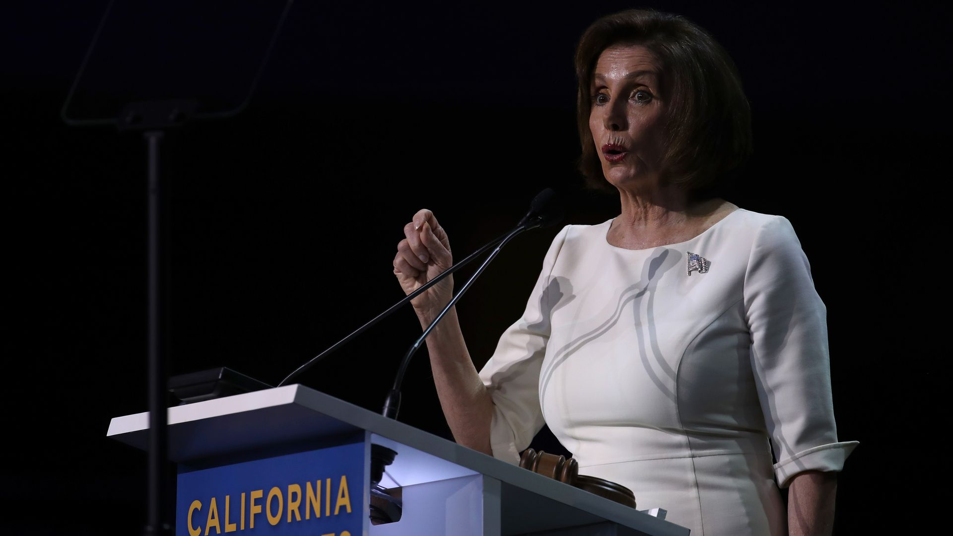 House Speaker Nancy Pelosi (D-CA) speaks during the California Democrats 2019 State Convention at the Moscone Center on June 01, 2019 in San Francisco, California.
