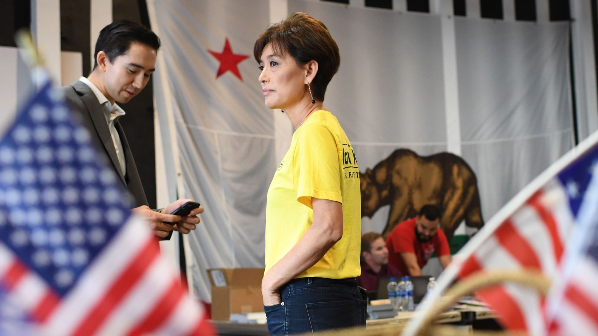 Republican House candidate Young Kim