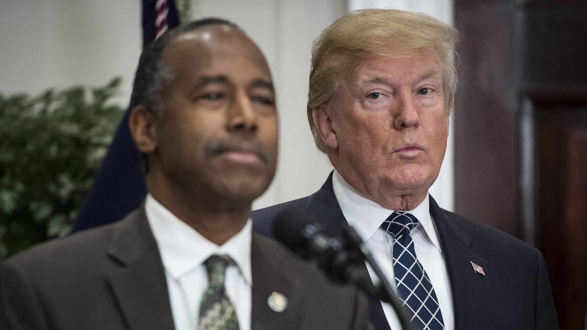 President Trump and Ben Carson