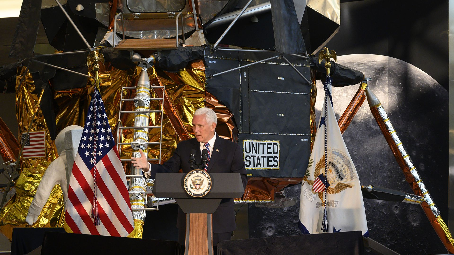 US Vice President Mike Pence speaks  in Washington, DC, on July 16.