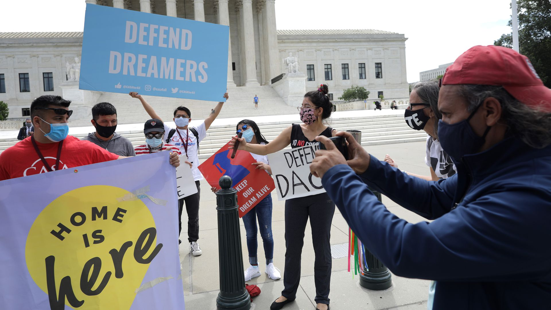 Democrats hope to tie immigration reform to next reconciliation push - Axios