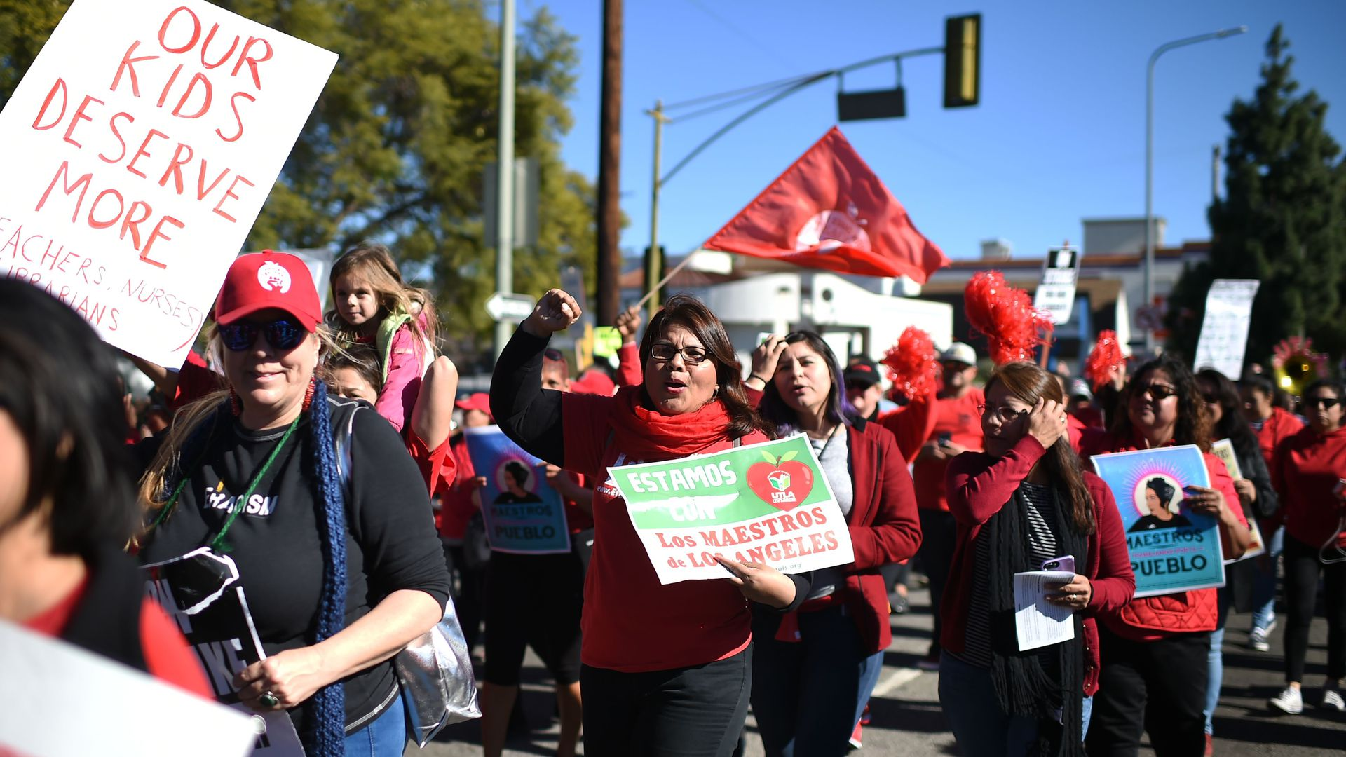 Teachers Strike Across The U.S.