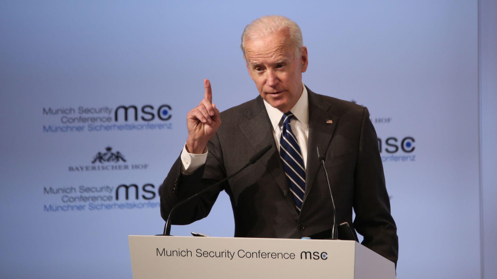 Joe Biden's 2020 signals
