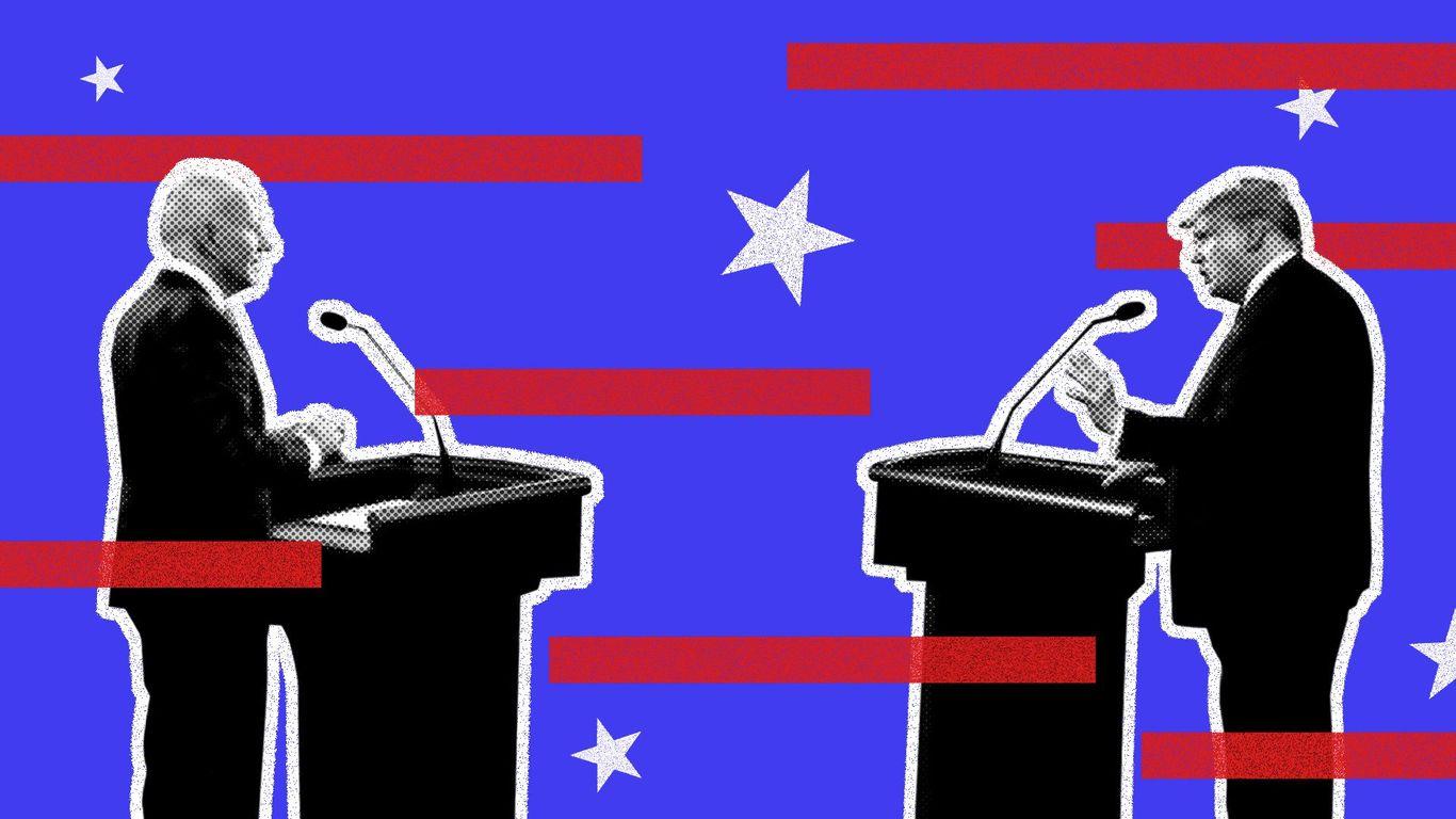 Climate change goes mainstream in presidential debate - Axios