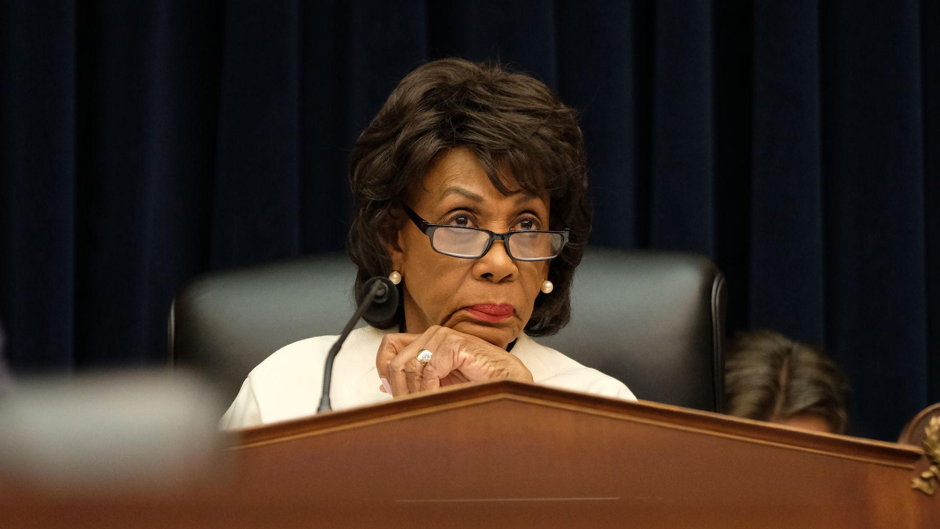 Chairwoman of the House Financial Services Committee Rep. Maxine Waters.
