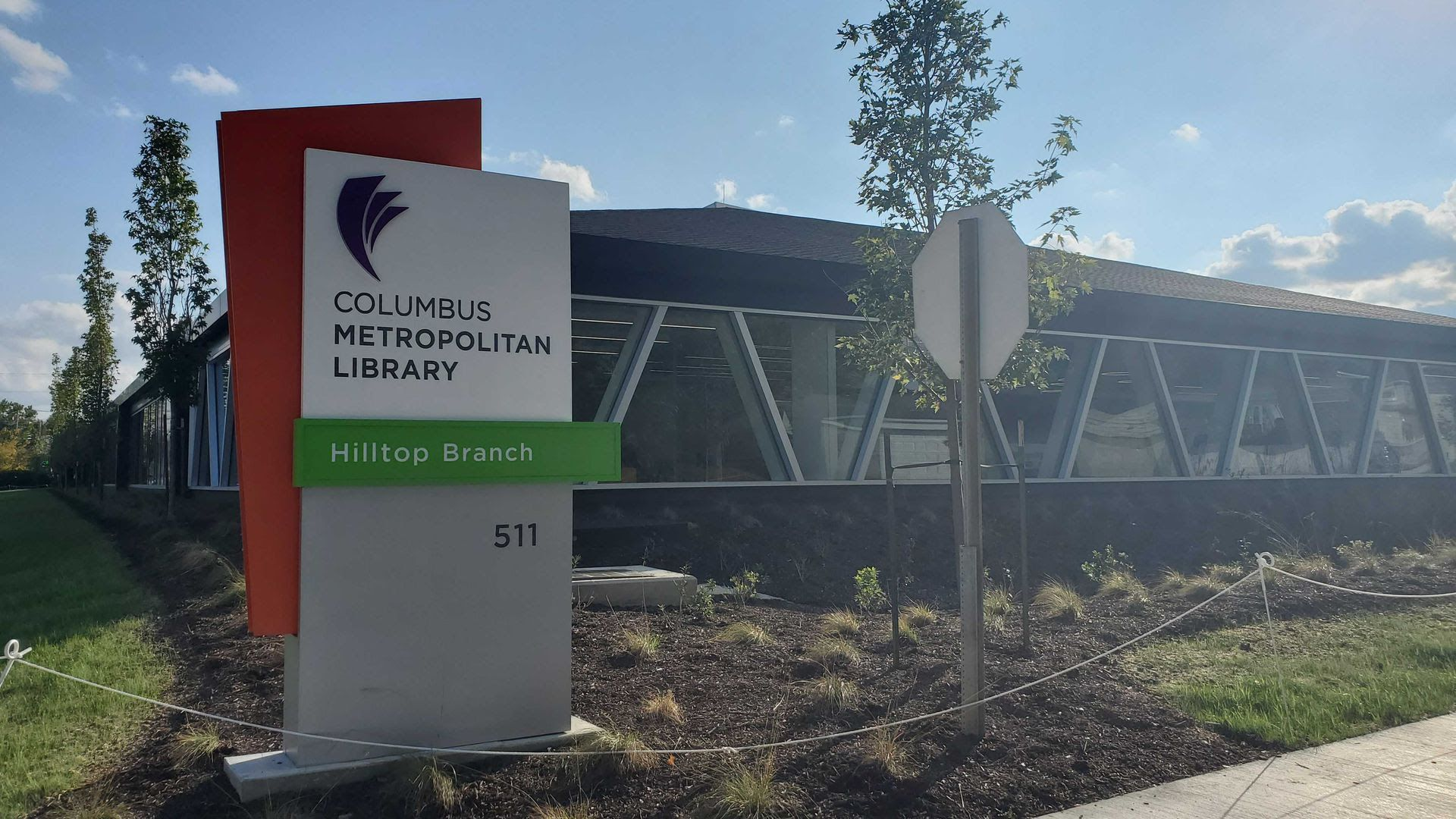 The new Hilltop Branch of the Columbus Public library system.