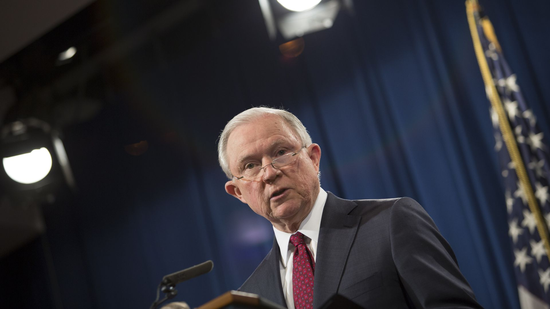 Attorney General Jeff Sessions. Photo: Toya Sarno Jordan/Getty Images